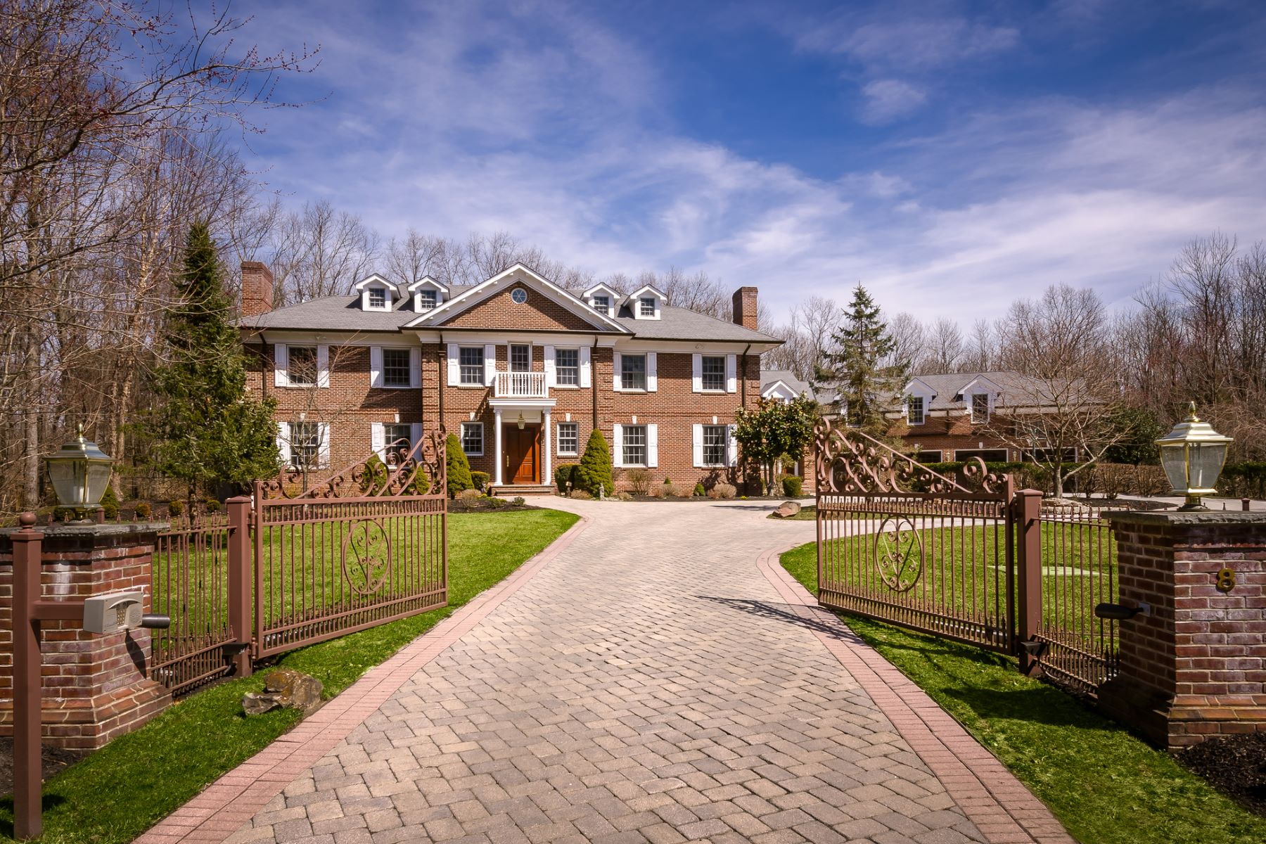 Single Family Homes for Sale at Stonybrook Manor: Once-in-a-Lifetime Magnificence 8 Players Lane Princeton, New Jersey 08540 United States