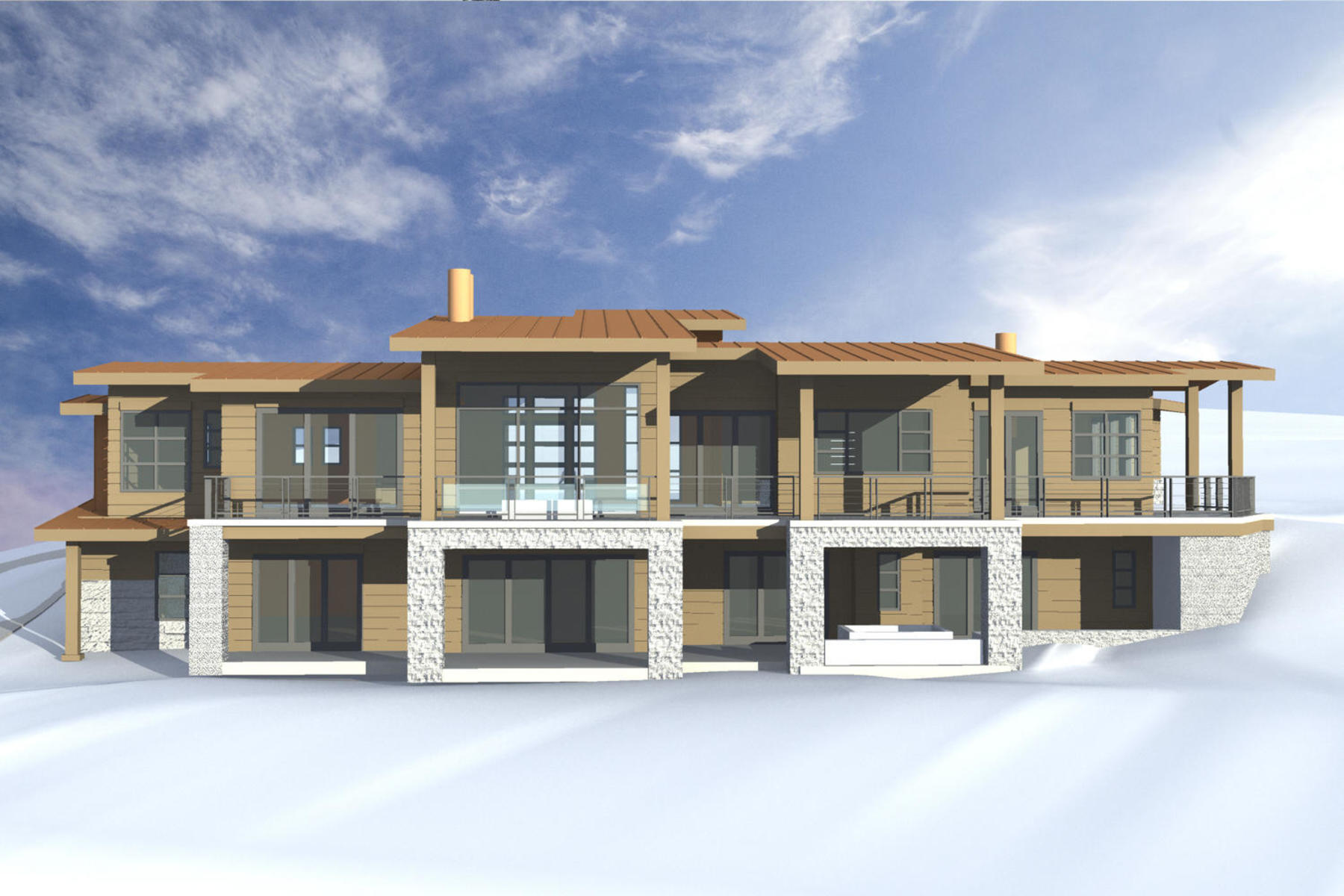 Single Family Home for Sale at New Construction in the Desired Palisades Neighborhood in Promontory 6140 Dakota Trl Park City, Utah, 84098 United States
