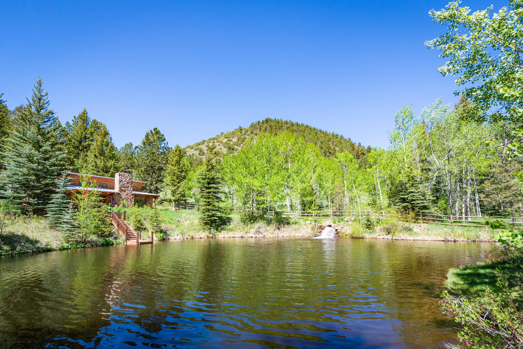 Land for Active at Waterfront Cabin Retreat 819 & 859 Mill Creek Road Dumont, Colorado 80436 United States