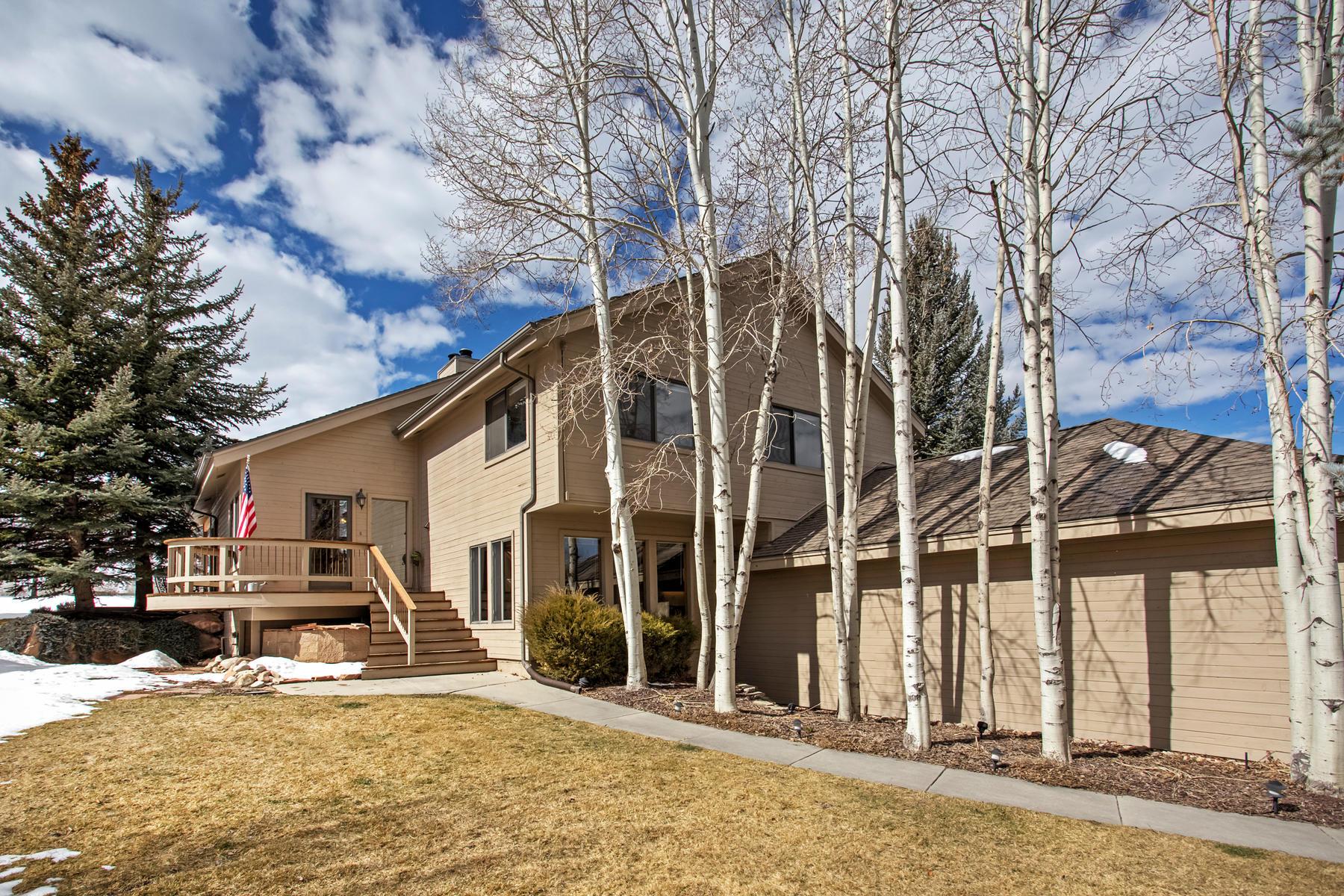Autre bien résidentiel pour l à vendre à Lake Front Home with Sweeping, Unobstructed Views of the Lake, Ski Runs and Surr 5121 Silver Springs Rd, Park City, Utah, 84098 États-Unis