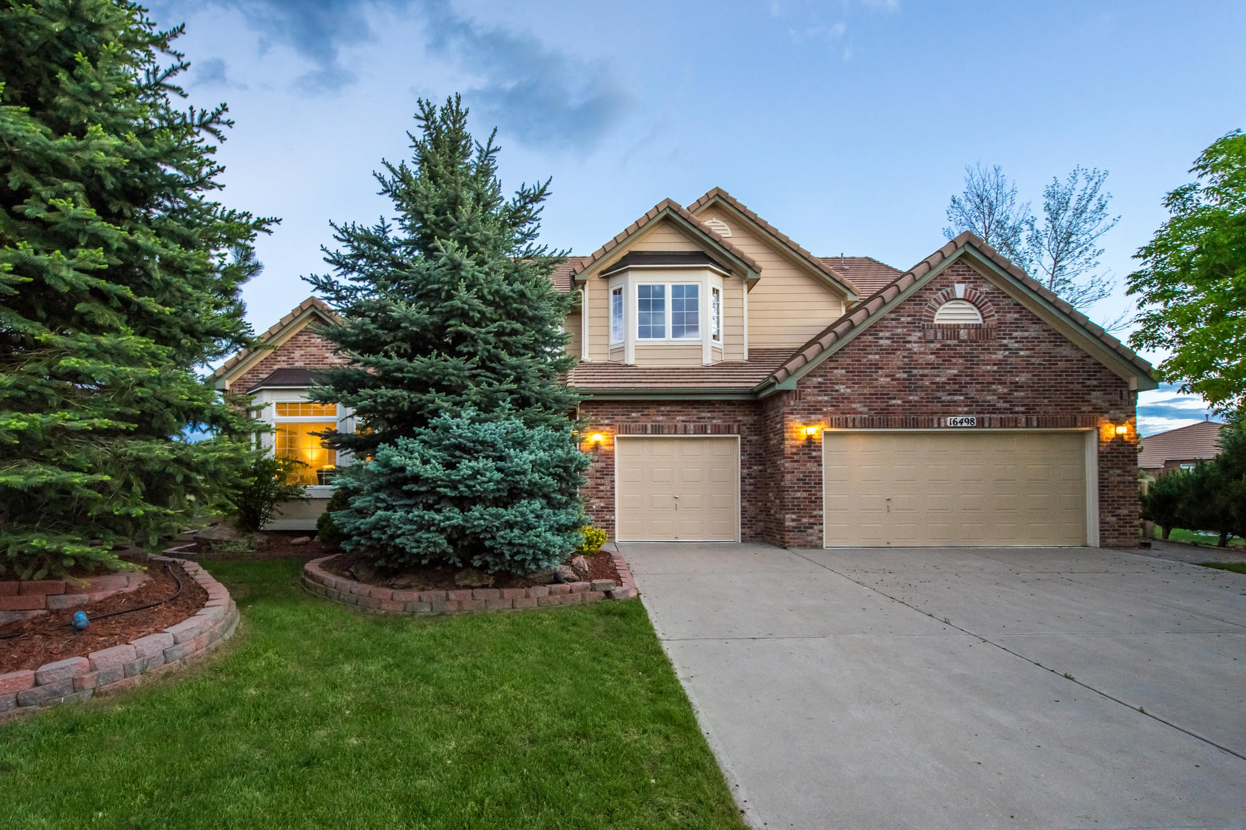 Single Family Home for Active at Stunning executive home located in exclusive Piney Creek Village 16498 E Lake Dr Centennial, Colorado 80016 United States