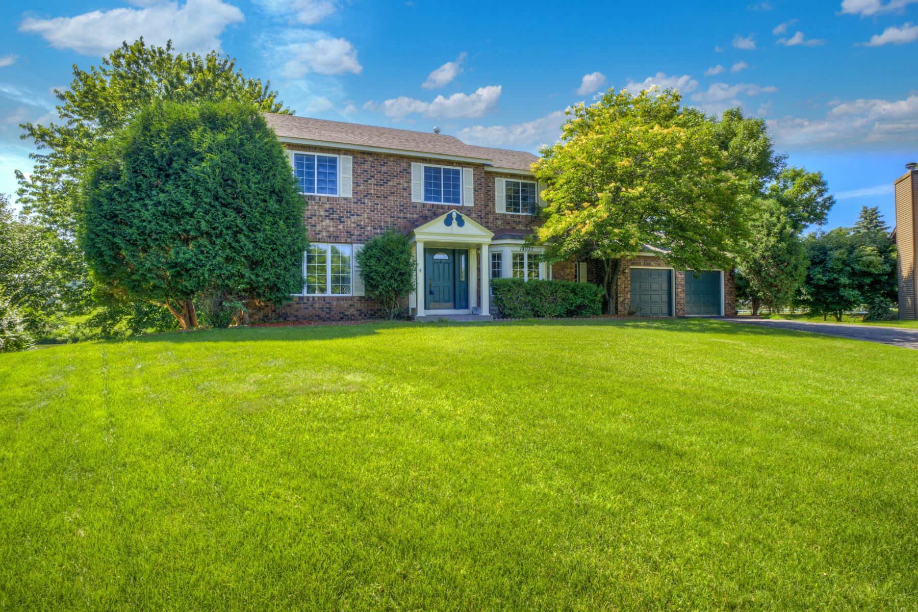 Single Family Homes for Sale at Beautiful brick front two story Colonial in desired Country Hills neighborhood. 14037 Daytona Way Rosemount, Minnesota 55068 United States