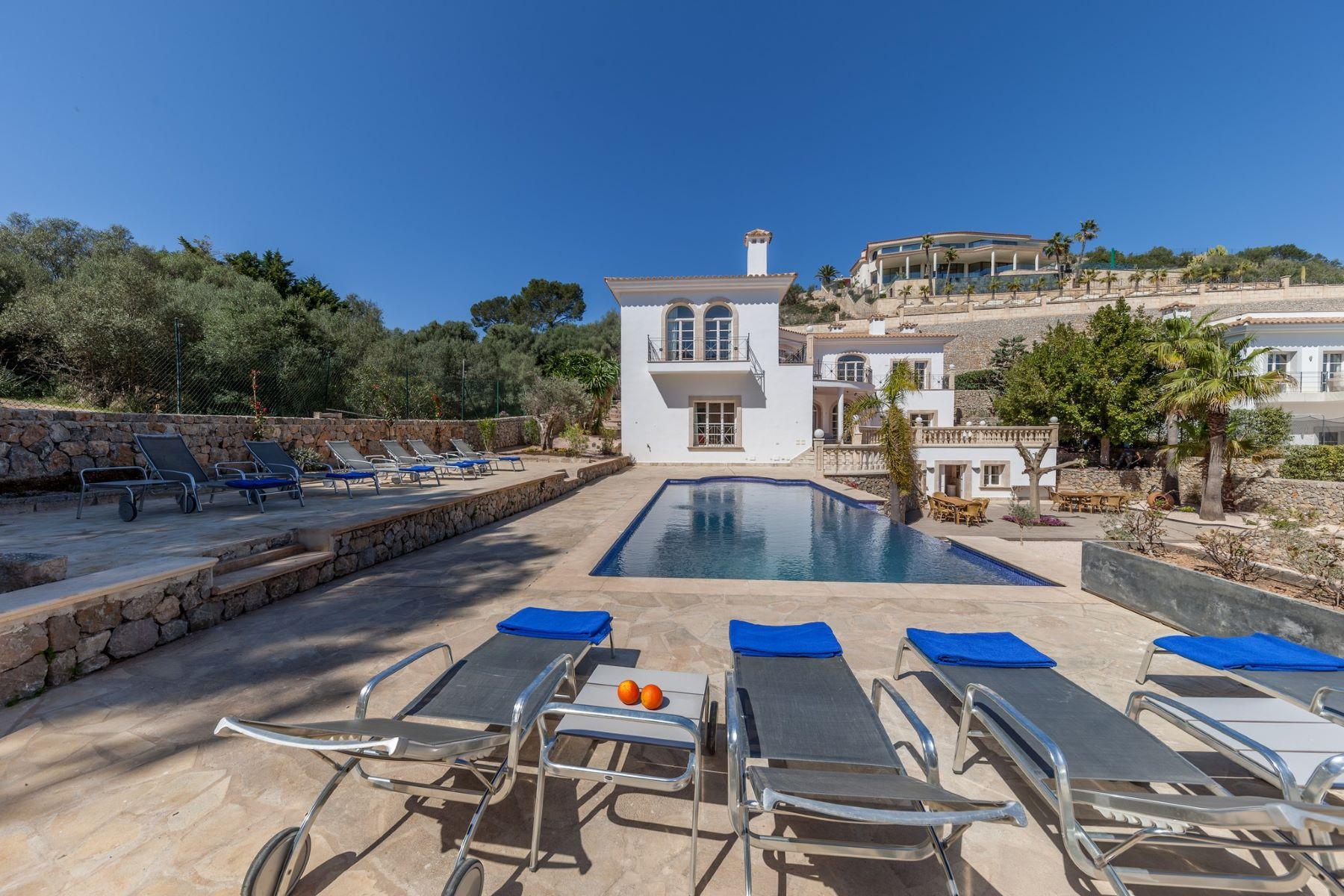 Single Family Home for Sale at Elegant villa in Son Vida Other Balearic Islands, Balearic Islands, Spain