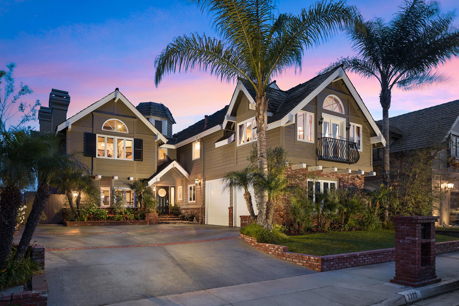 Частный односемейный дом для того Продажа на 3322 Venture Huntington Beach, Калифорния, 92649 Соединенные Штаты