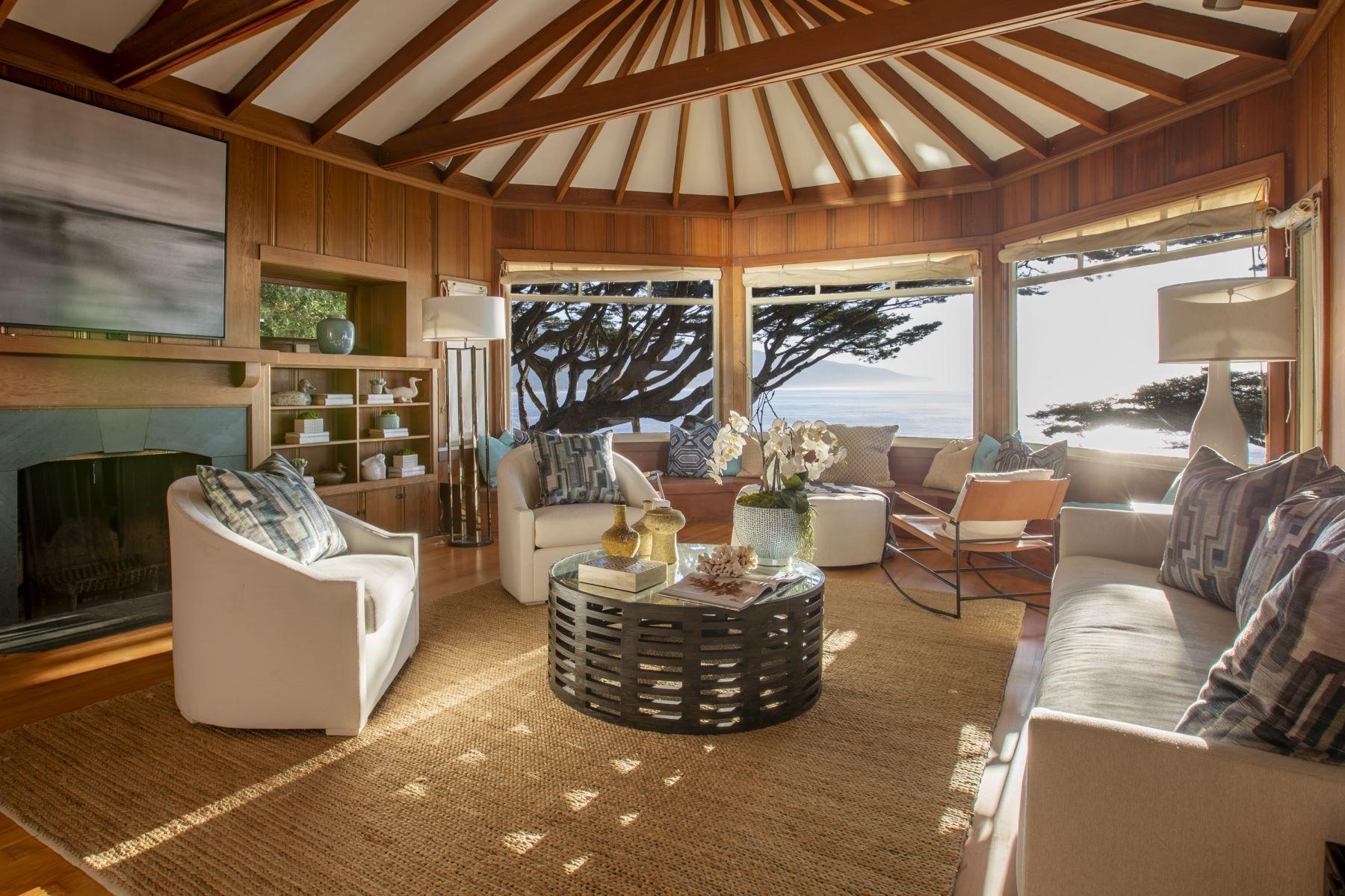 Single Family Homes para Venda às Timeless California Ocean Front 49 Terrace Avenue, Bolinas, Califórnia 94924 Estados Unidos
