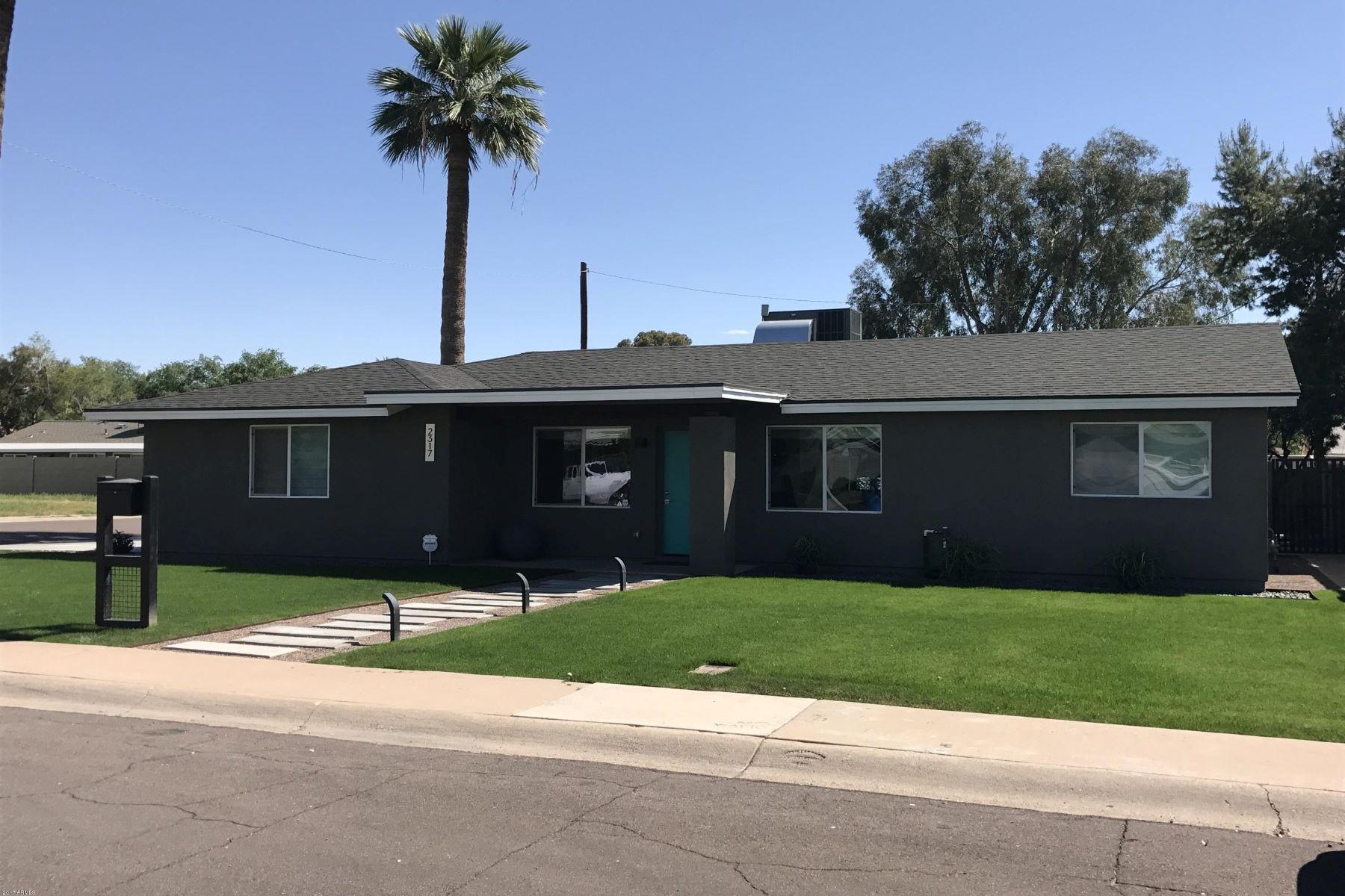 Частный односемейный дом для того Продажа на Beautiful single level home 2317 E Sells Dr Phoenix, Аризона, 85016 Соединенные Штаты