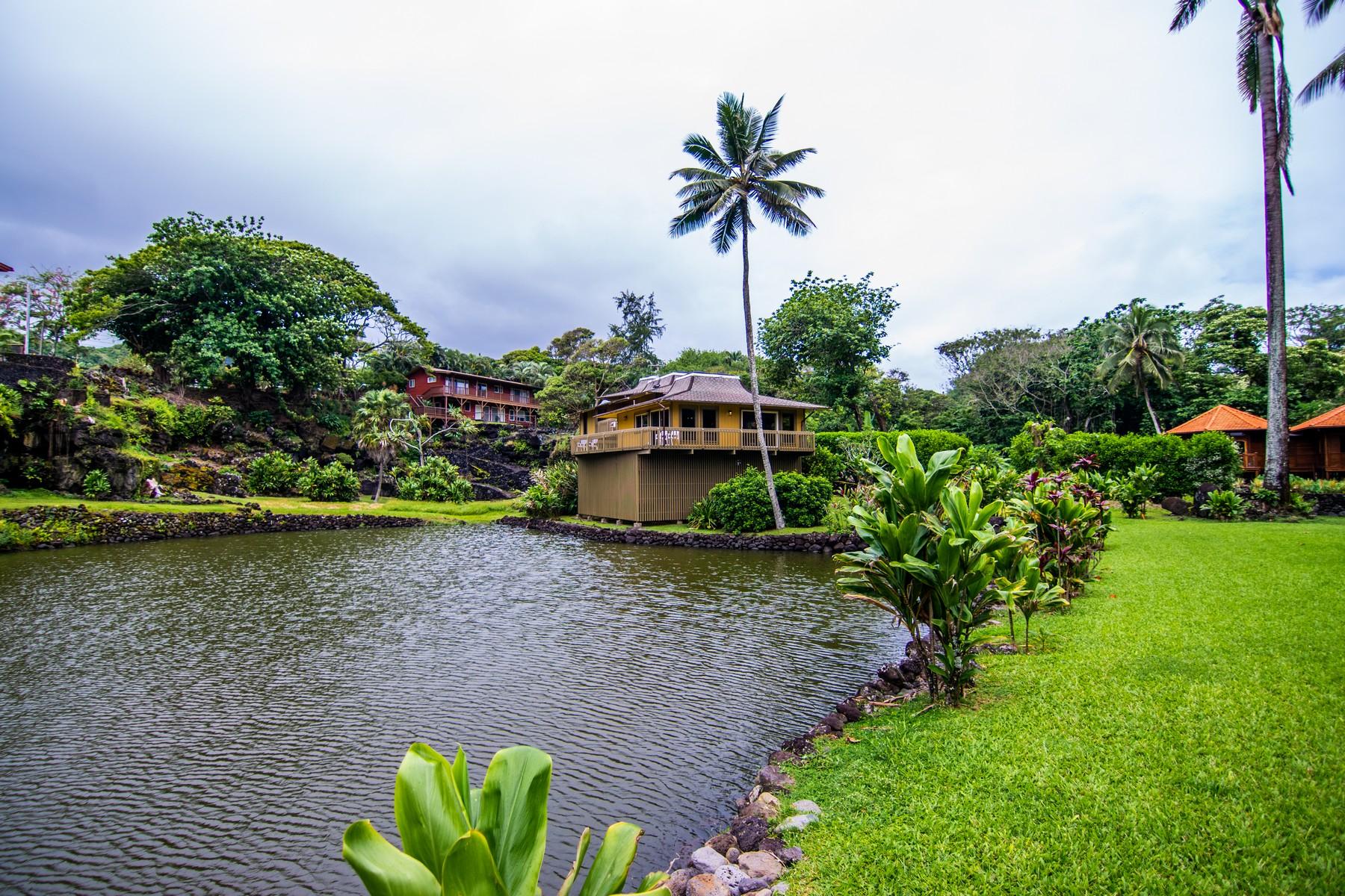 Single Family Homes för Försäljning vid Tropical Waikoloa Bay Beautifully Appointed Residence - Hana, Maui 134 Waikoloa Rd, Hana, Hawaii 96713 Förenta staterna