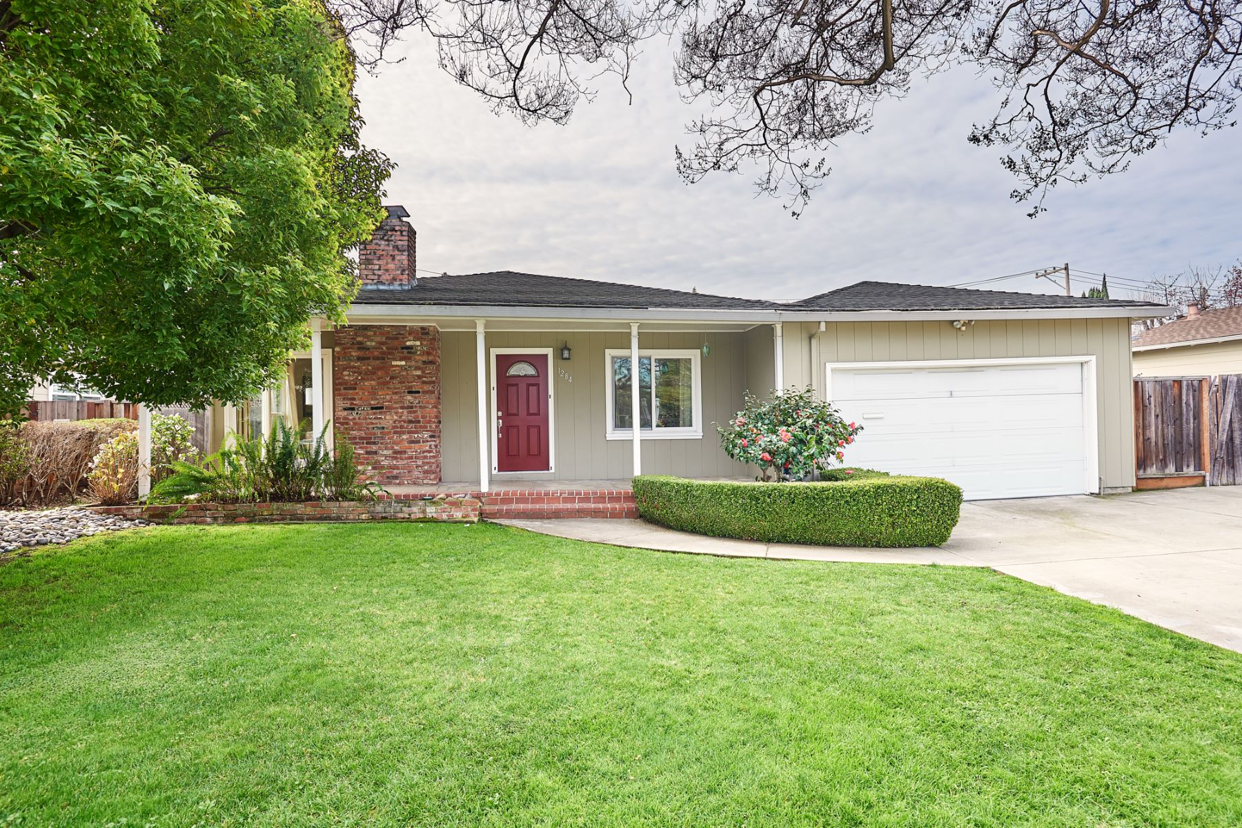 Single Family Home for Active at Beautiful Ranch Style Home 1284 Truman Street Redwood City, California 94061 United States