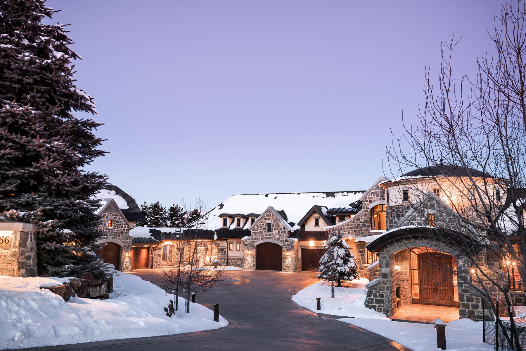 Single Family Homes for Active at Upwall Designed Estate In Glenwild Golf Club 8066 N Red Fox Ct Park City, Utah 84098 United States