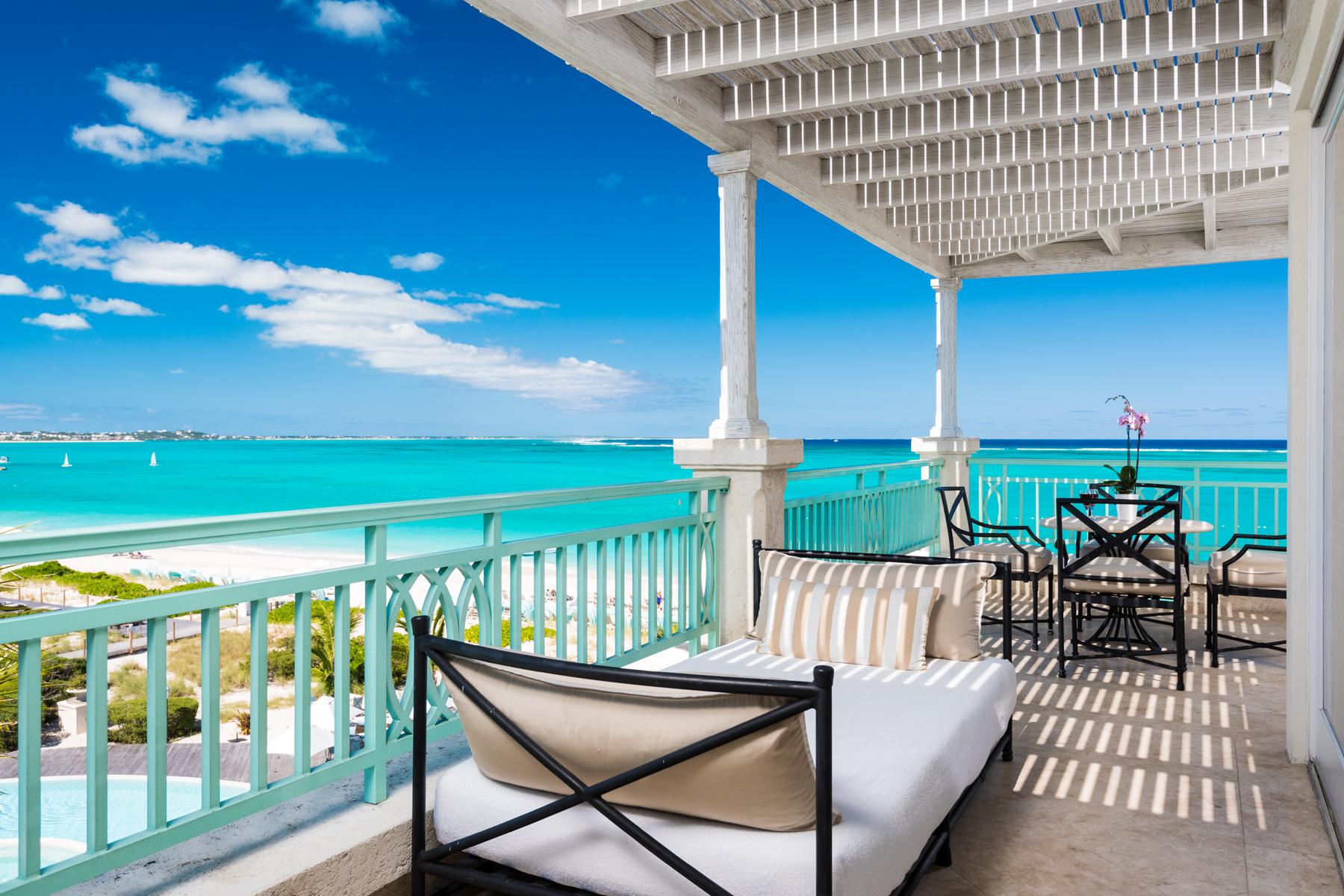 Condominio por un Venta en The Palms - Suite 1408.09.10 Beachfront Grace Bay, Providenciales TKCA 1ZZ Islas Turcas Y Caicos