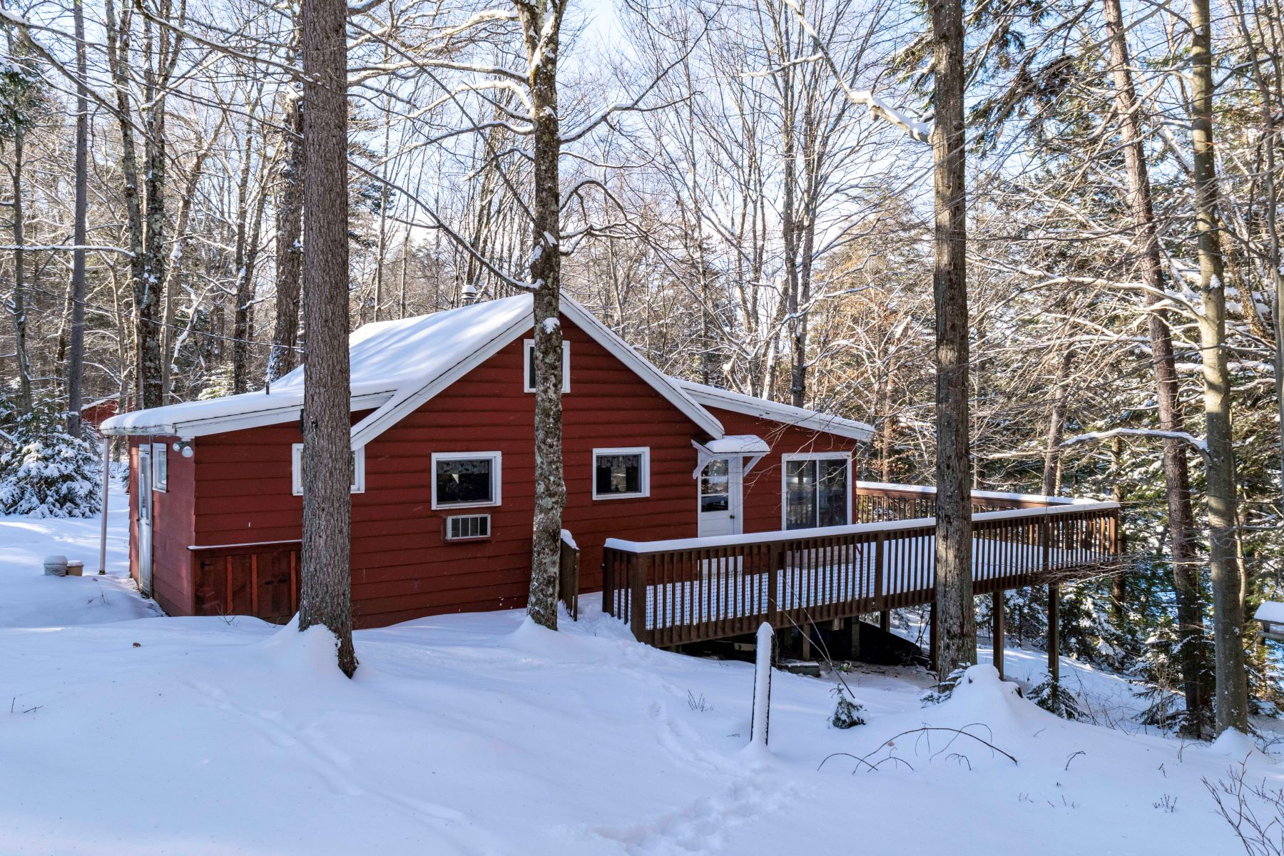 Single Family Homes for Sale at Beautiful, Quiet Lot on Fourth Lake 1887 South Shore Road Old Forge, New York 13420 United States