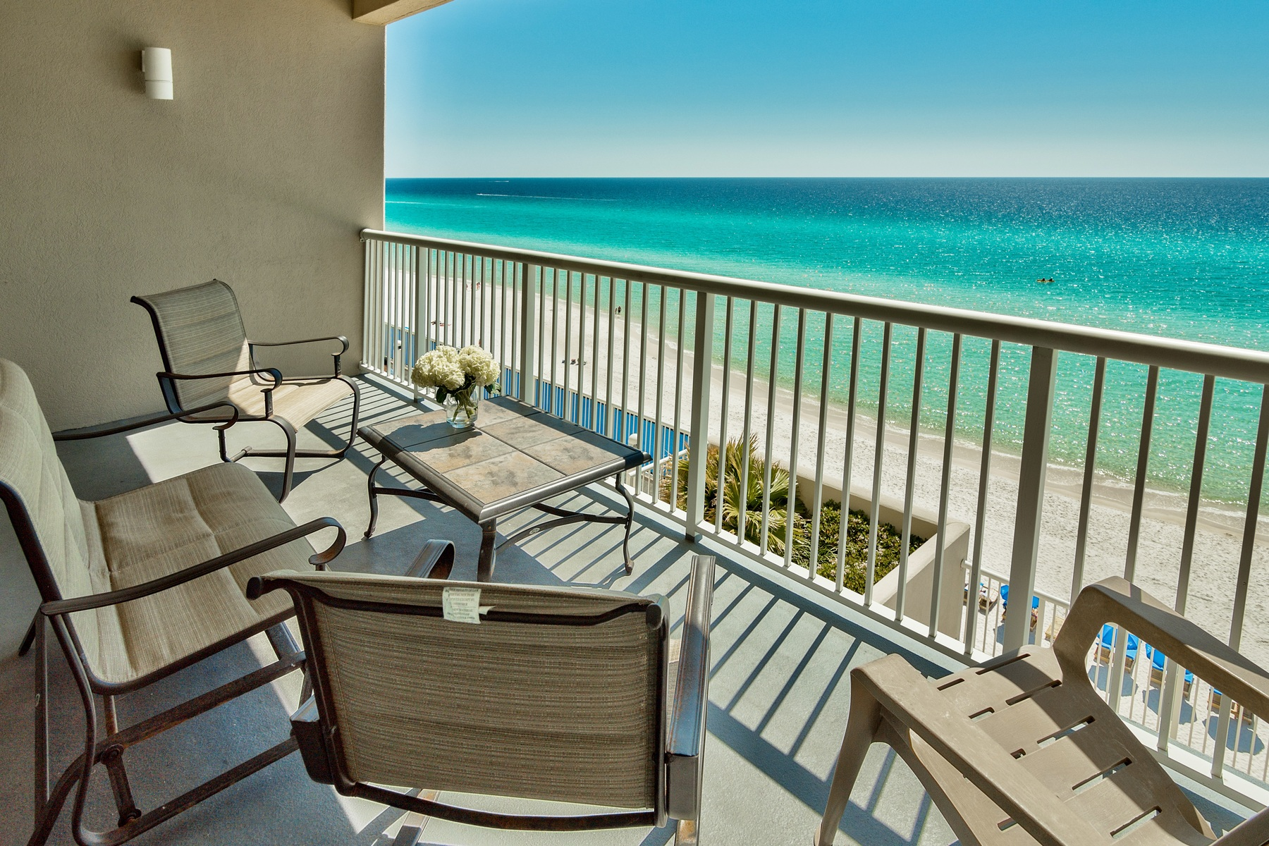 共管物業 為 出售 在 UNOBSTRUCTED GULF VIEWS FROM A COZY COMFORTABLE CONDO 17281 Front Beach Road 204 Panama City, 佛羅里達州, 32413 美國