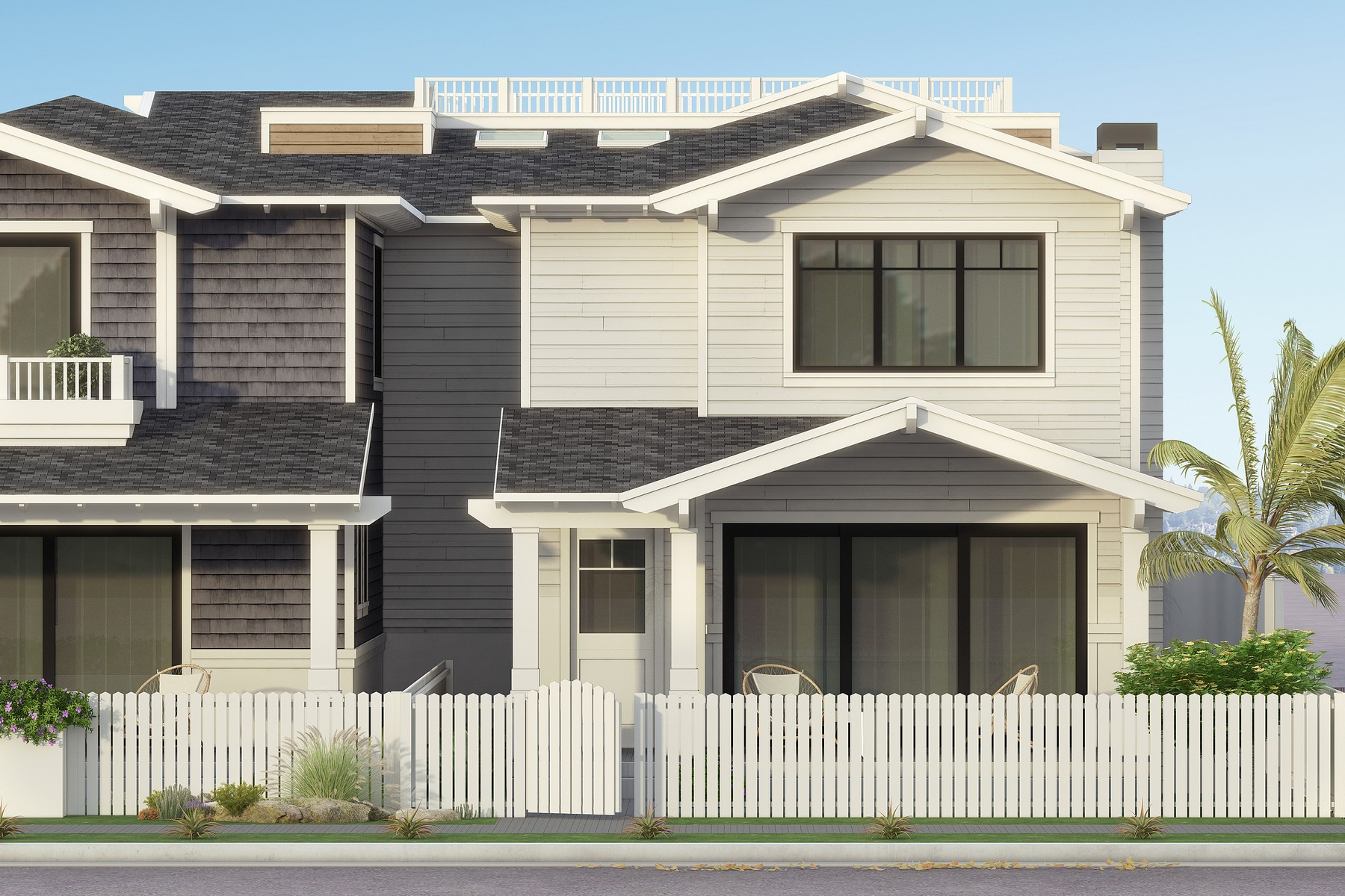 Single Family Homes para Venda às Barbados 872 C Avenue, Coronado, Califórnia 92118 Estados Unidos