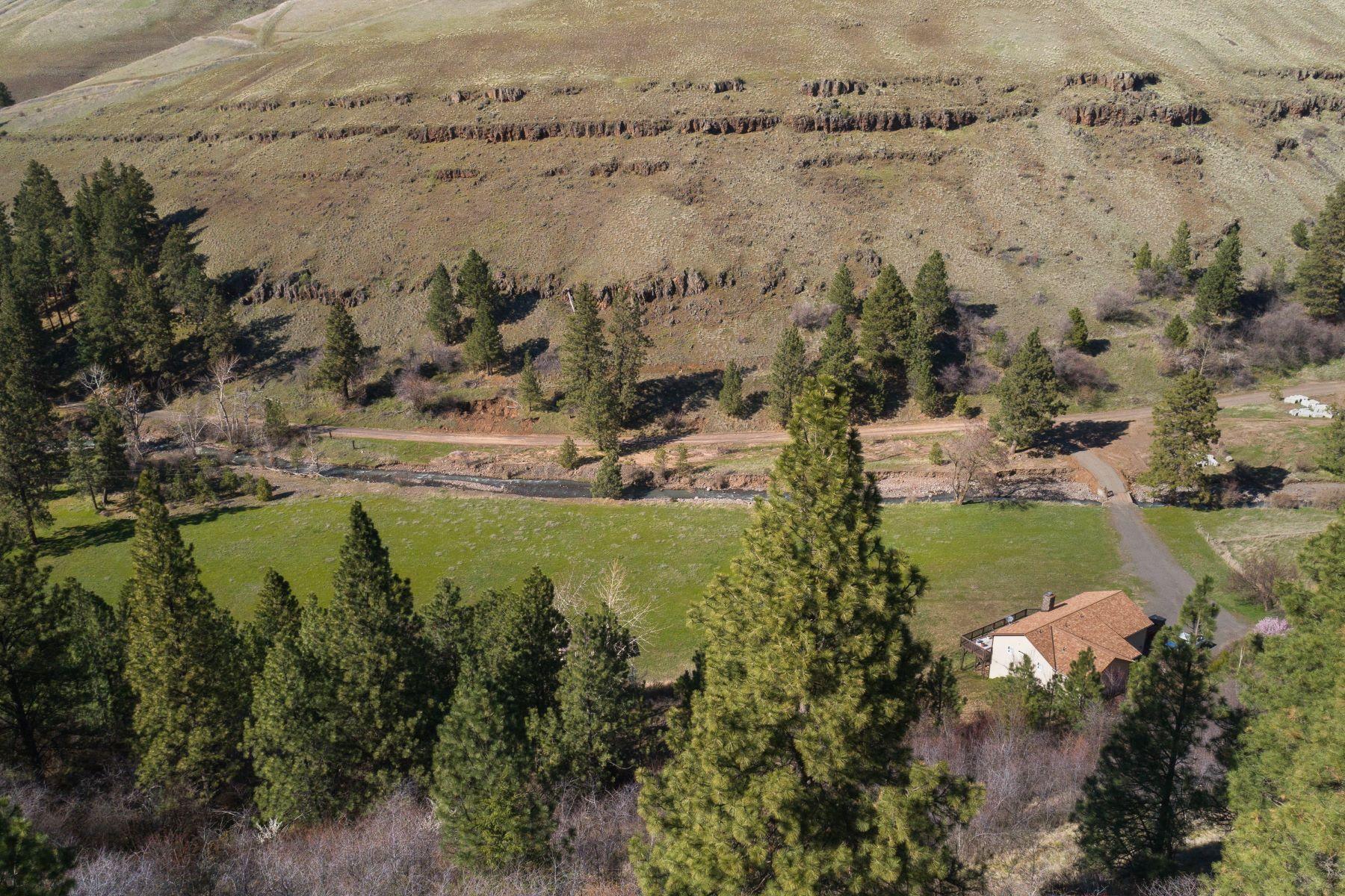 Single Family Homes 為 出售 在 Sportsman's Paradise in Eastern Washington, USA 112 Rogers Gulch Lane, Dayton, 華盛頓州 99328 美國