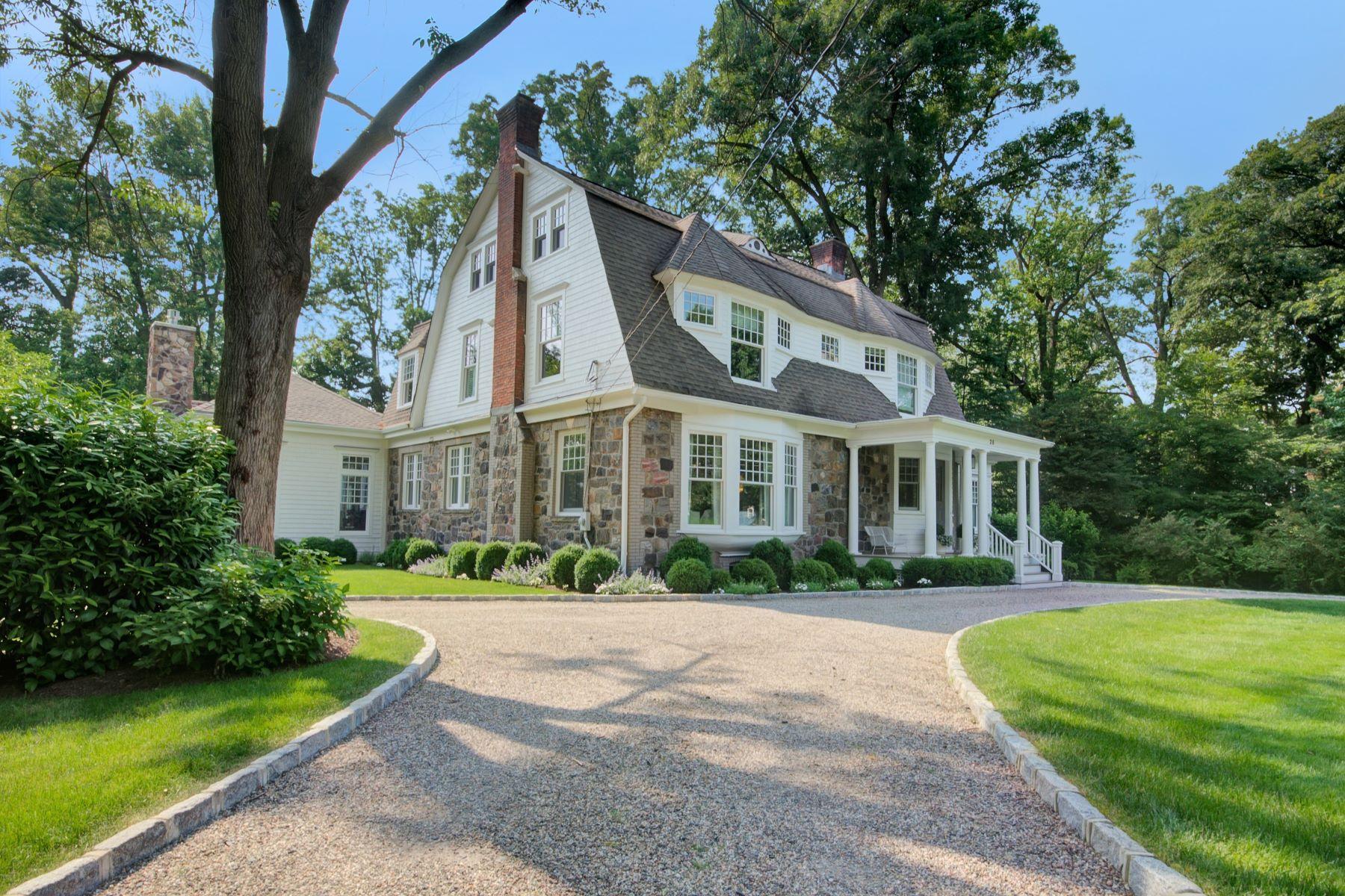 Частный односемейный дом для того Продажа на Live Artfully 28 Hill Crest Avenue, Summit, Нью-Джерси 07901 Соединенные Штаты