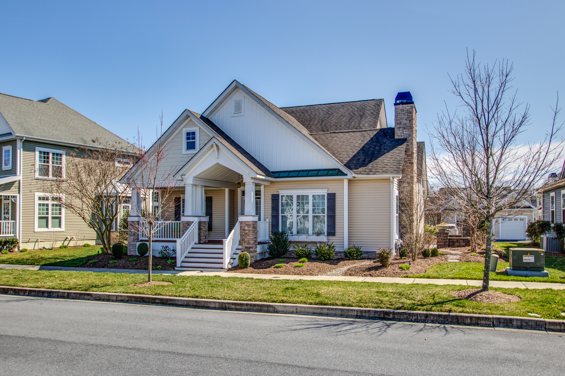 Single Family Homes for Sale at Milton 110 Heritage Boulevard Milton, Delaware 19968 United States