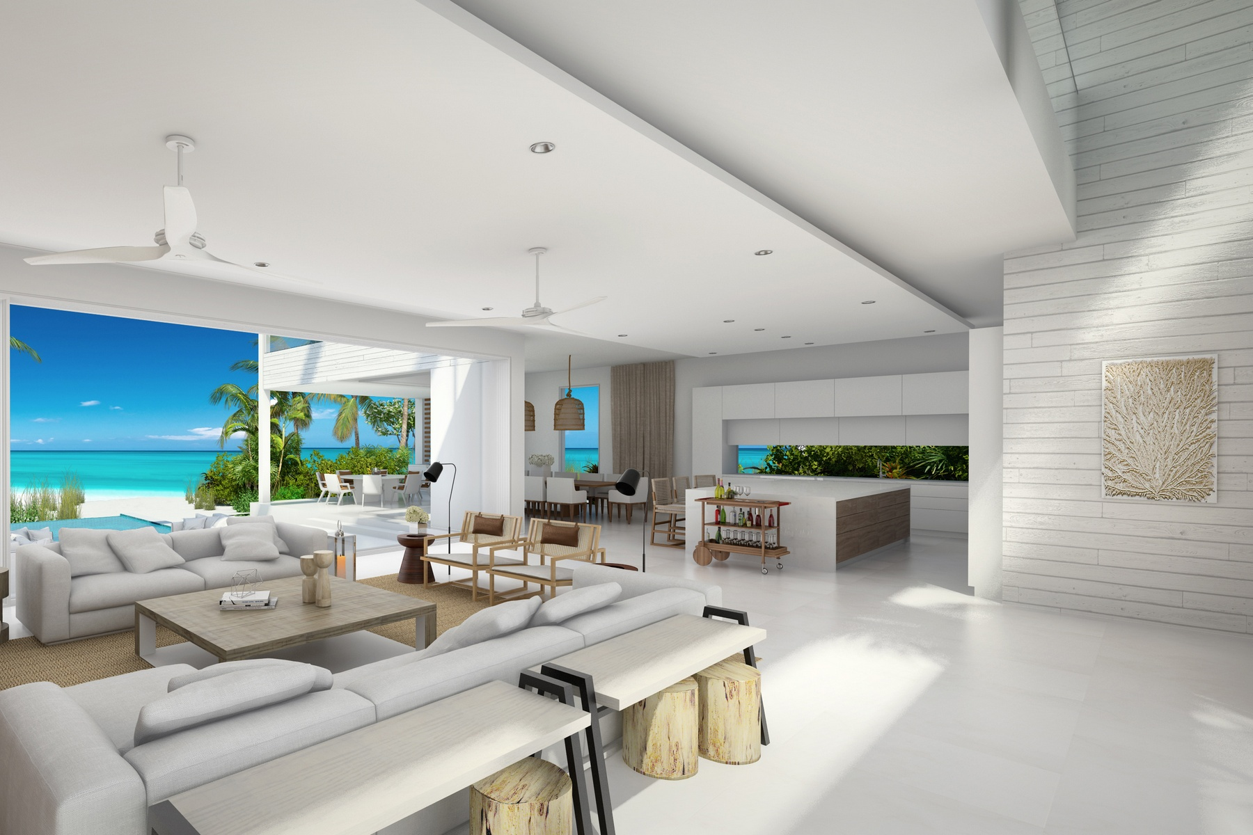Additional photo for property listing at BEACH ENCLAVE GRACE BAY Design B Beachfront 格蕾斯湾, 普罗维登夏 TKCA 1ZZ 特克斯和凯科斯群岛