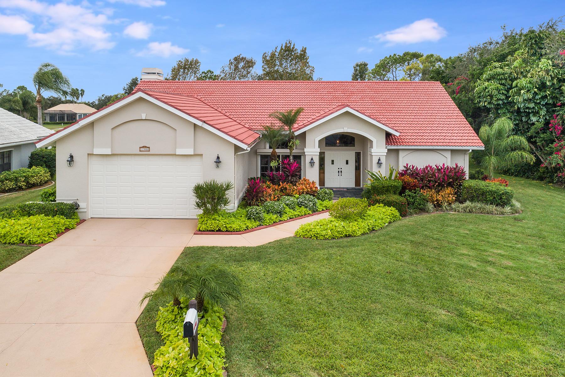 Single Family Homes のために 売買 アット FORT MYERS 11500 Mahogany Run, Fort Myers, フロリダ 33913 アメリカ