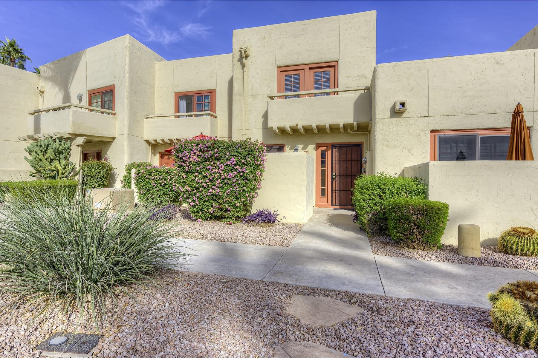 تاون هاوس للـ Sale في Beautiful Townhouse in the highly sought after community of the Alamos 6150 N Scottsdale Rd #24, Paradise Valley, Arizona, 85253 United States