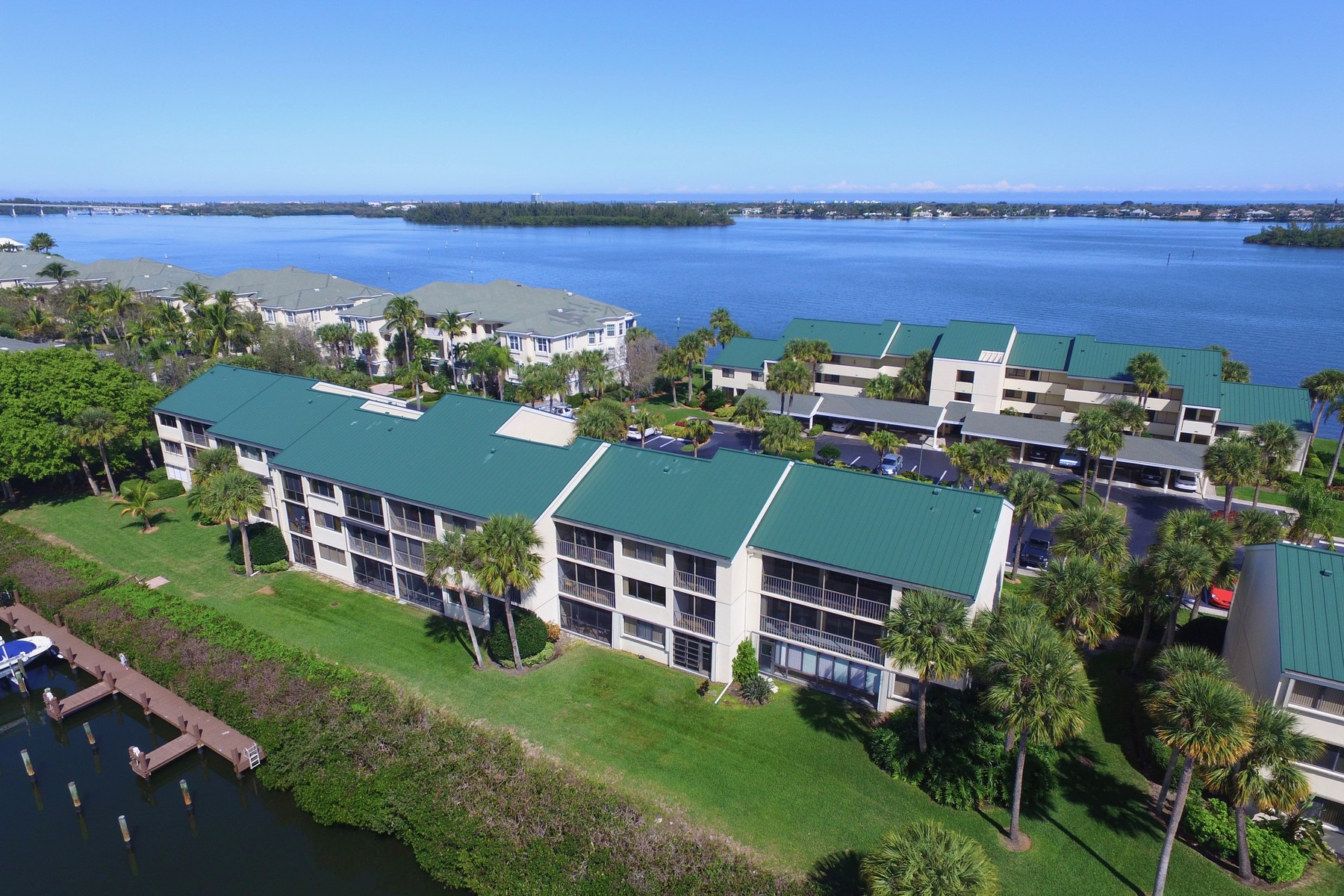 Condominium for Sale at Largest End Unit Condo - Watch the Boats and Manatees in the Canal Below! 1845 Tarpon Ln #G201 Vero Beach, Florida 32960 United States