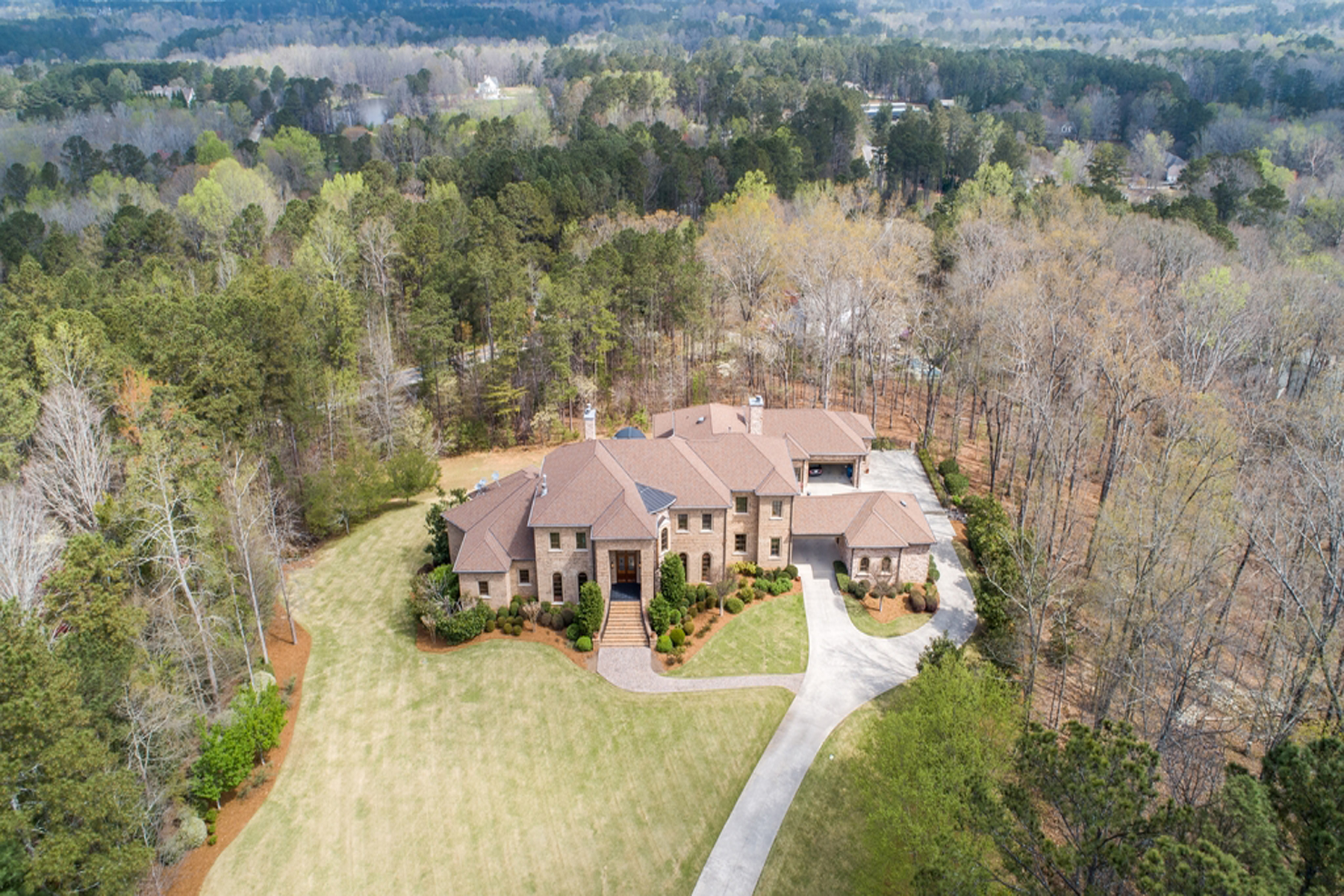 Single Family Home for Sale at An Idyllic Haven From The Hustle And Bustle 1320 Summit Road Milton, Georgia 30004 United States