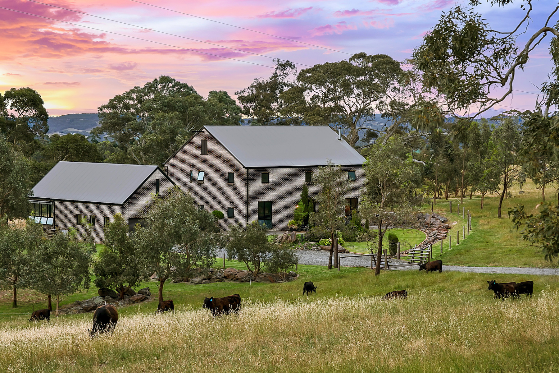 Single Family Home for Sale at Elegant Country Estate in Picturesque Setting 47 Woolshed Road, Mount Torrens, South Australia, 5244 Australia