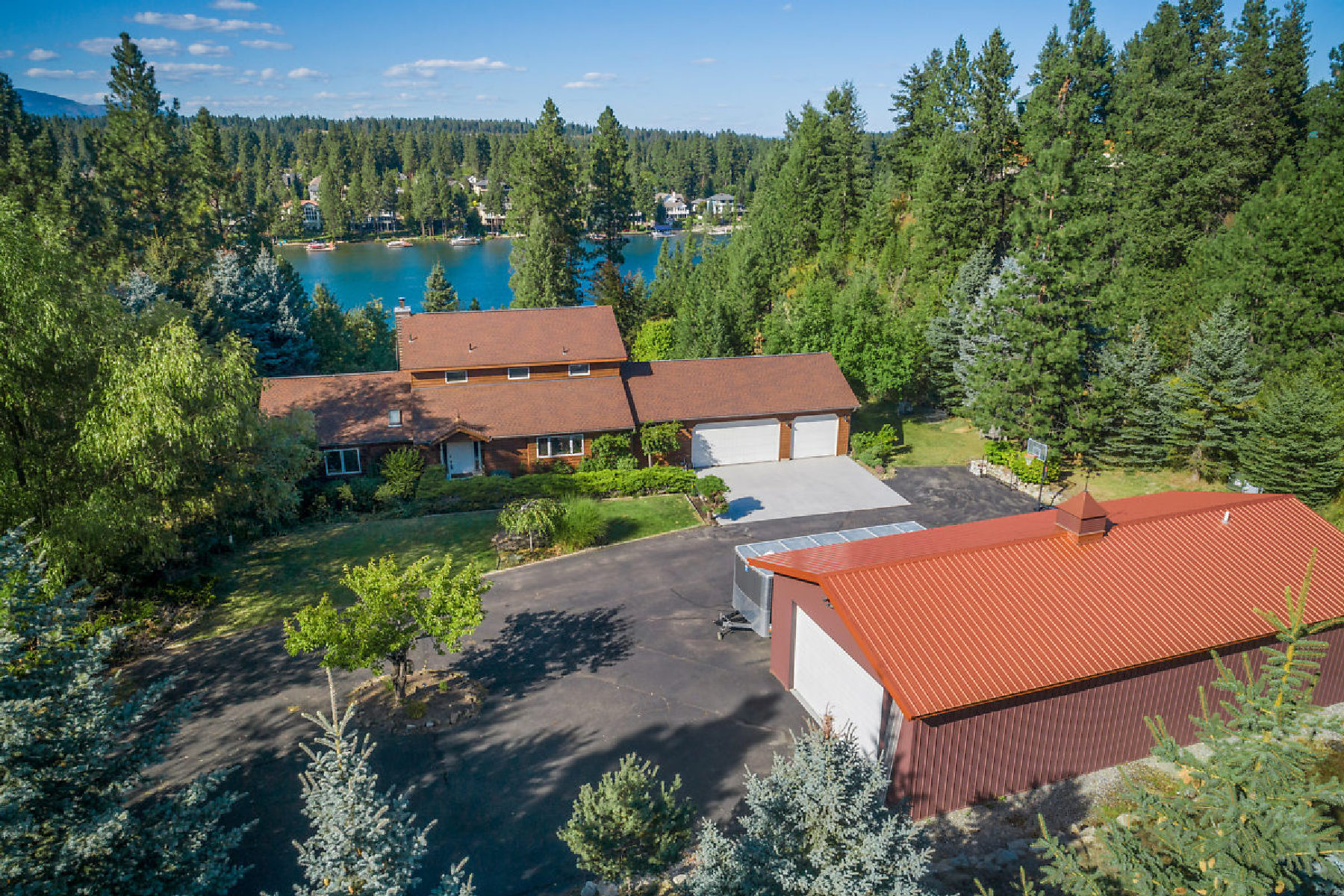 Single Family Homes for Sale at 8481 W Riverview Drive Coeur D Alene, Idaho 83814 United States