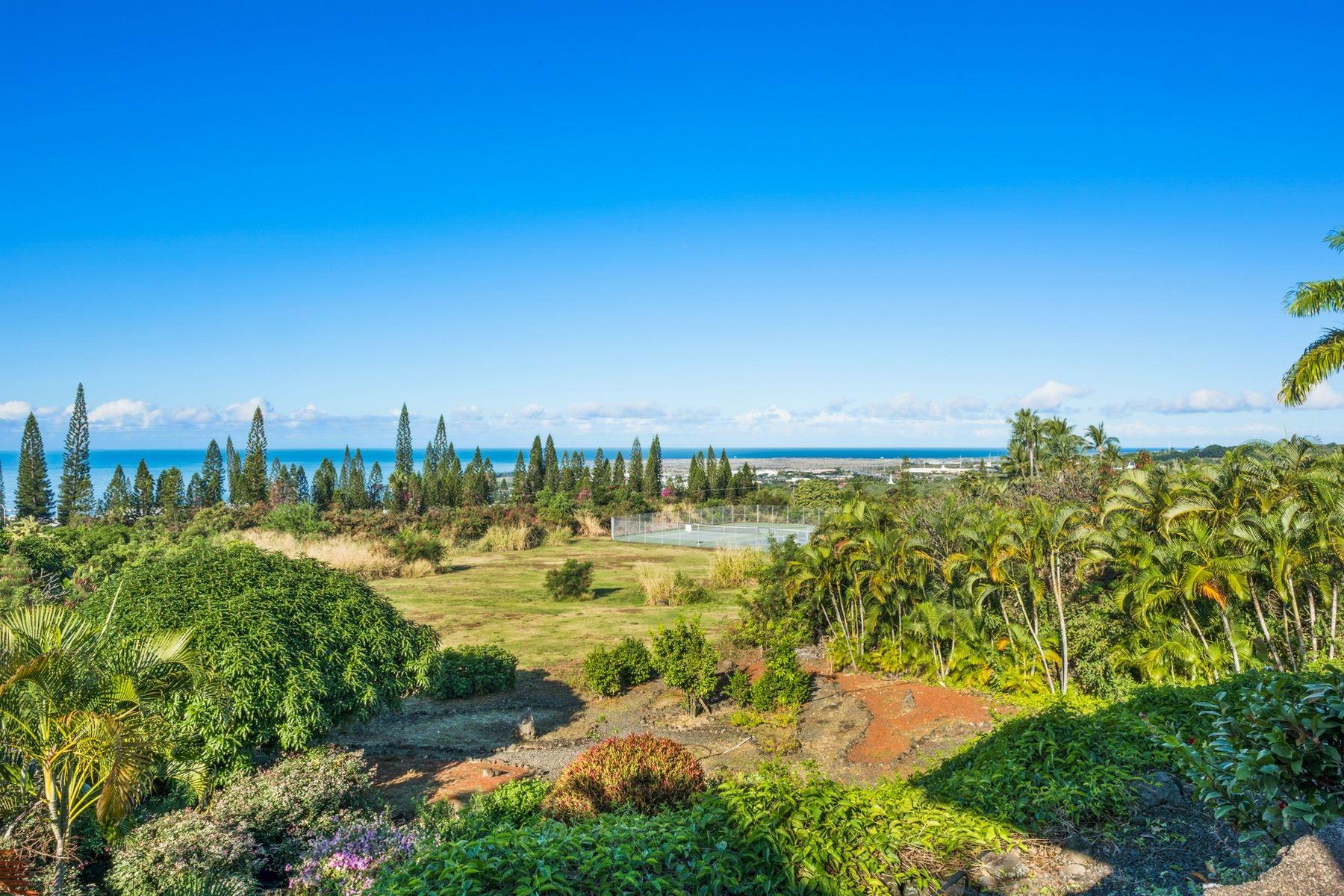 独户住宅 为 销售 在 Kailua View Subdivision 75-5820 Welo St., 纳市, 夏威夷, 96740 美国