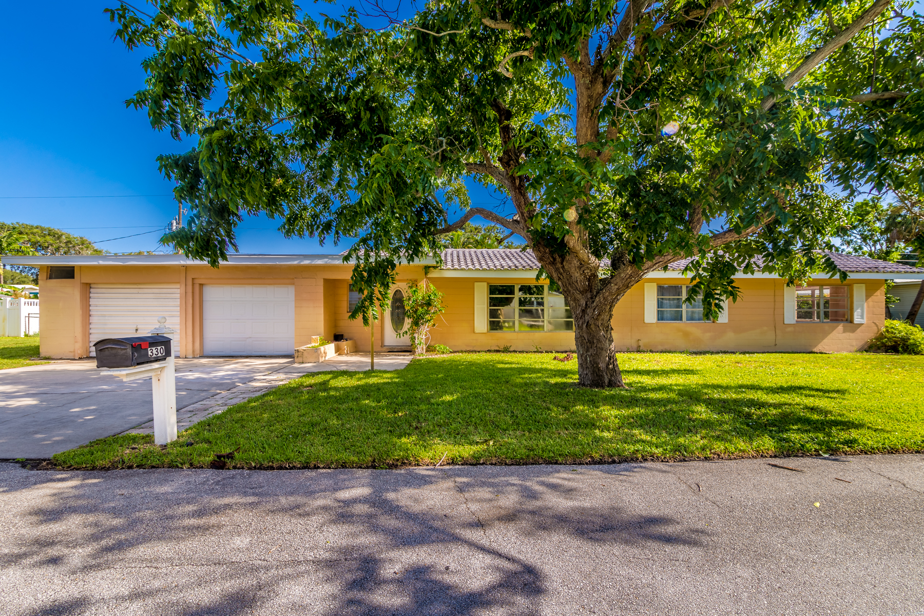 Single Family Home for Sale at Solid Home on Quiet Street 330 Rita Boulevard Melbourne Beach, Florida 32951 United States