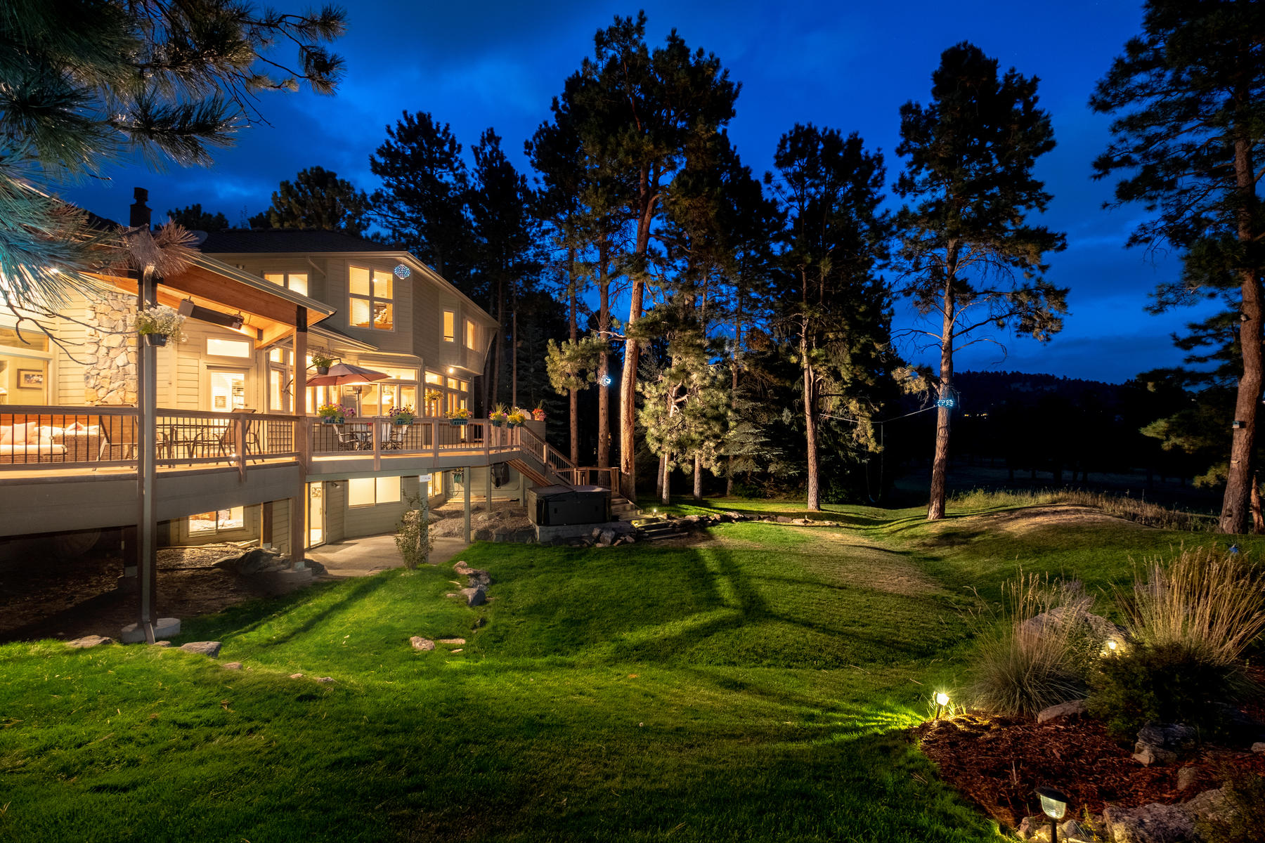 Single Family Homes for Sale at Premier Golf Course Property in the Coveted Island at Hiwan 2176 Island Point Evergreen, Colorado 80439 United States