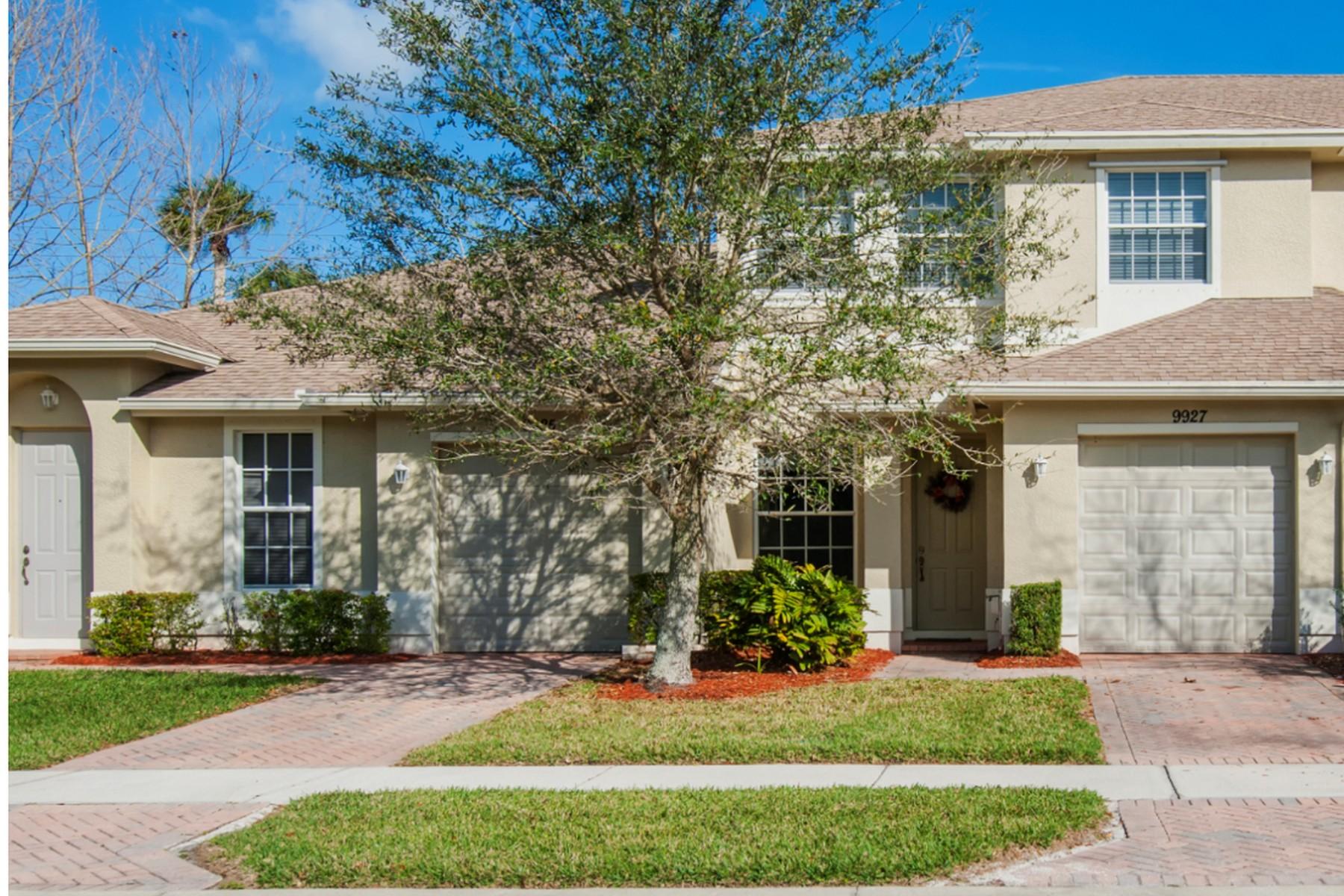 独户住宅 为 销售 在 Great Townhome in Verona Trace 9927 E Villa Circle, 维罗海滩, 佛罗里达州, 32966 美国