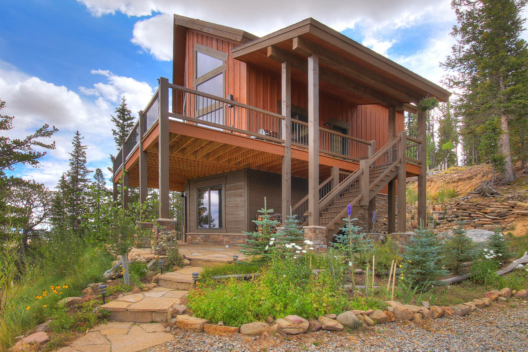 Single Family Home for Active at Contemporary Mountain Home 1665 High Creek Road Fairplay, Colorado 80440 United States
