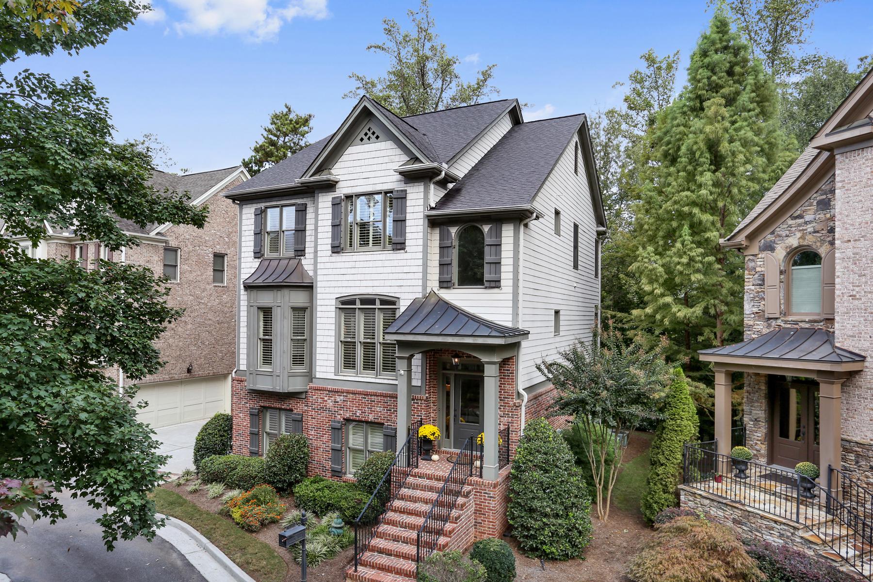 단독 가정 주택 용 매매 에 Beautiful Home in Desirable Sandy Springs 1012 Madeline Lane Atlanta, 조지아 30350 미국