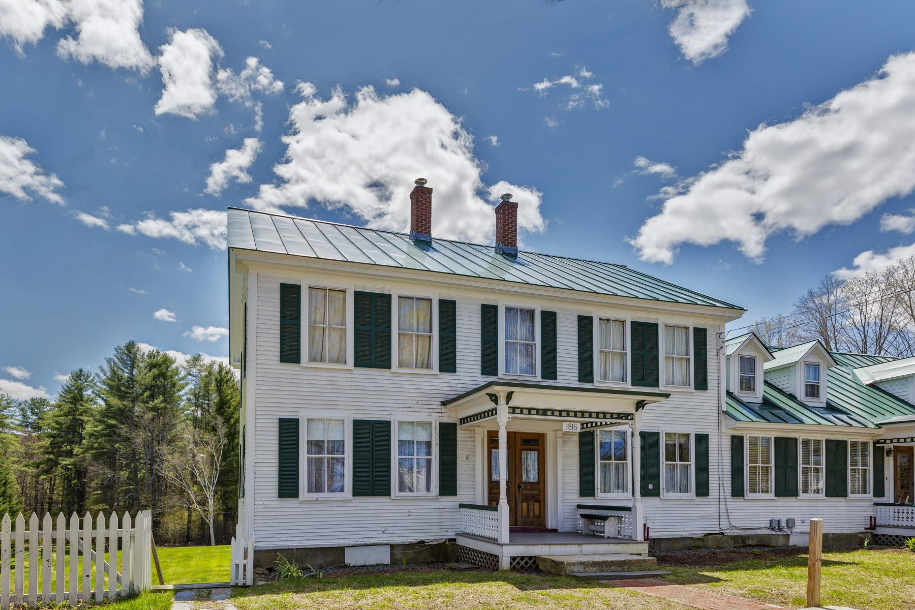 """Condominiums for Active at Lyme """"On The Common"""" Condominium 6 On The Common Unit 2 Lyme, New Hampshire 03768 United States"""