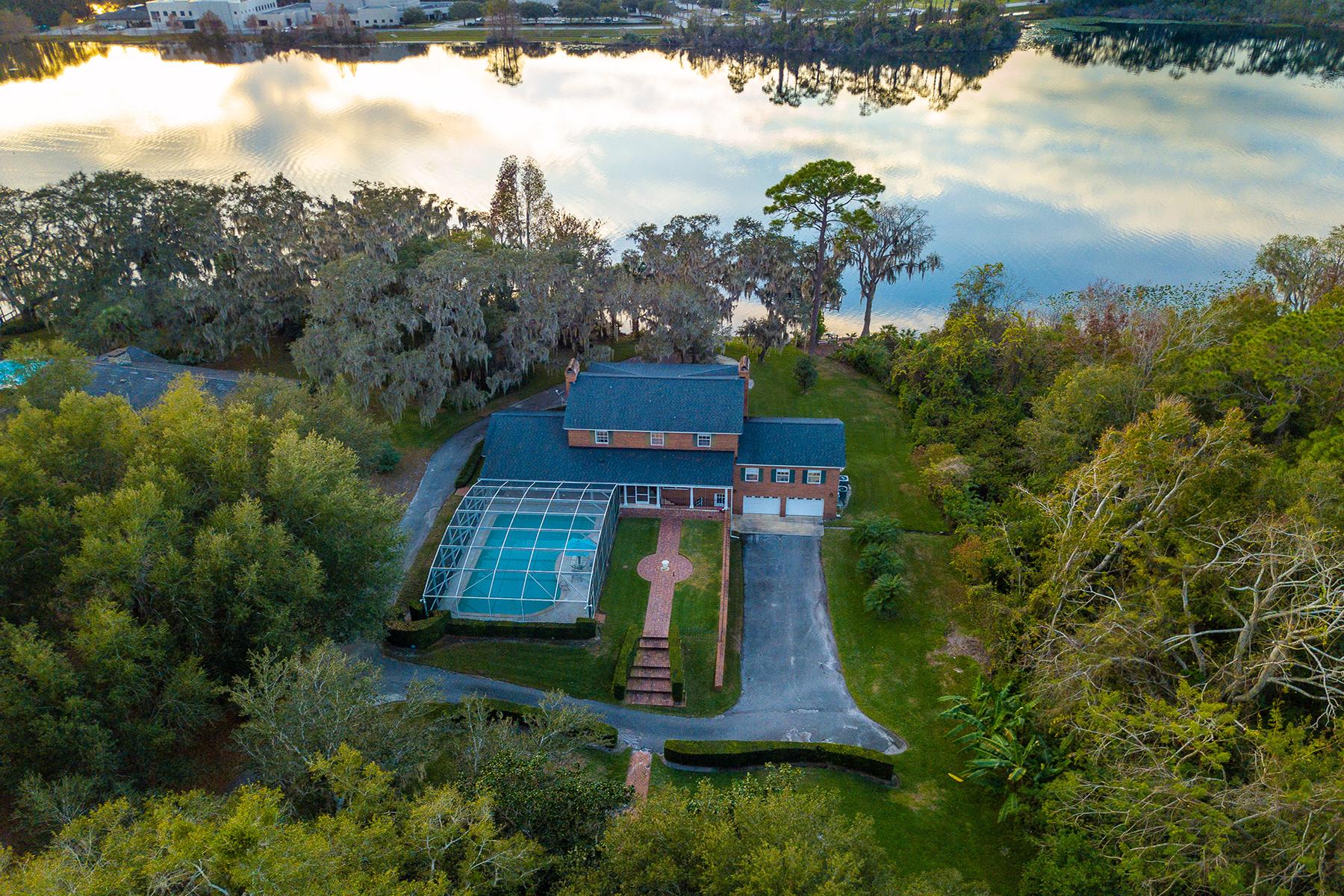Single Family Homes for Sale at Oviedo 3680 S Tuskawilla Rd Oviedo, Florida 32765 United States