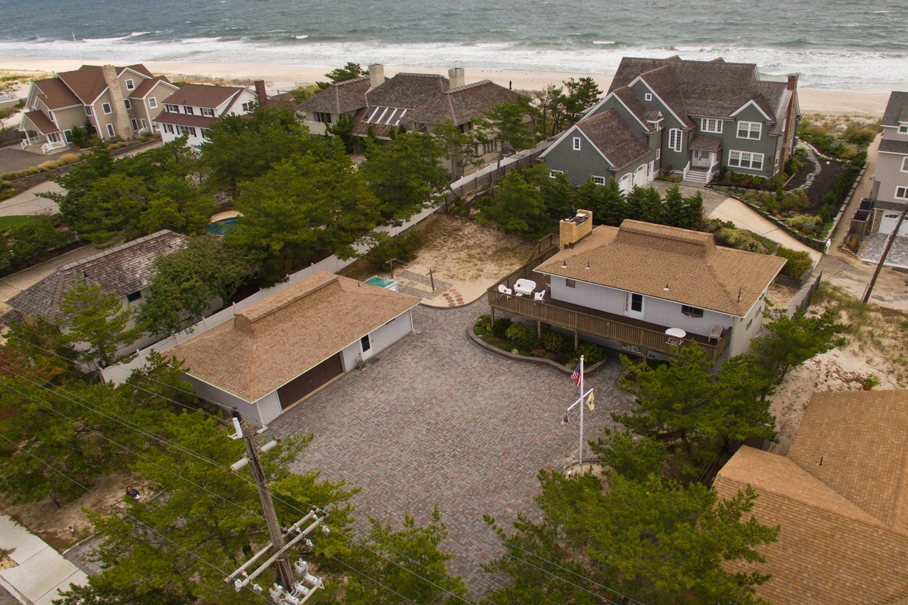 Maison unifamiliale pour l Vente à Estate-Like Setting For This Custom Built Home 1609 Route 35 North Mantoloking, New Jersey, 08738 États-Unis