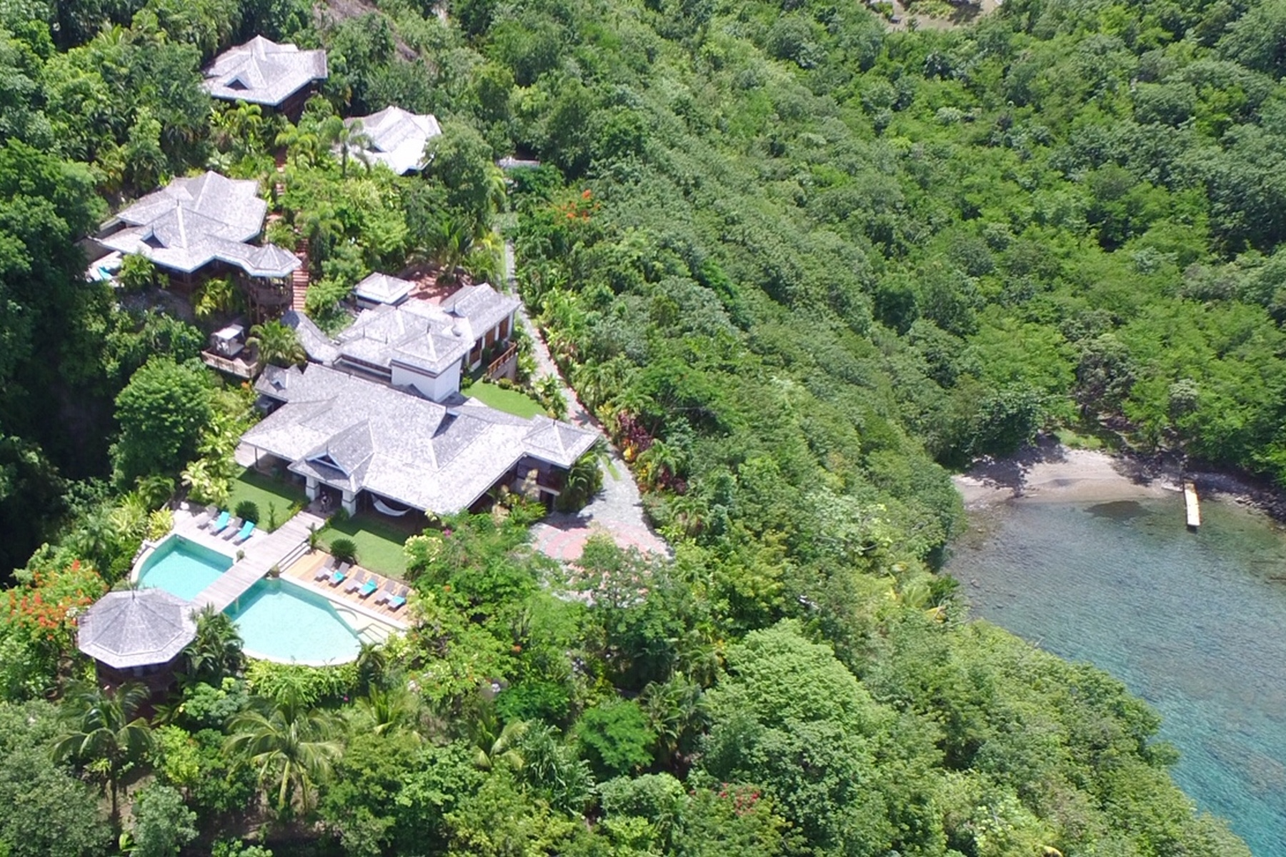 Single Family Homes for Sale at Marigot Bay, Castries St. Lucia