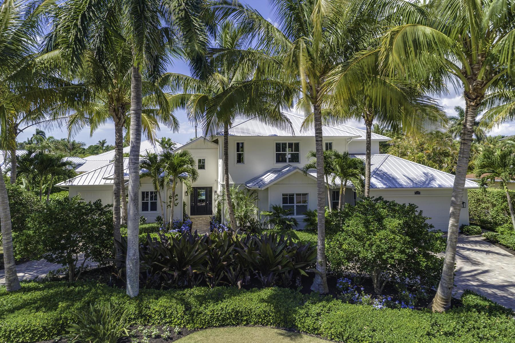 Eensgezinswoning voor Verkoop op 539 Rudder Rd , Naples, FL 34102 539 Rudder Rd Napels, Florida 34102 Verenigde Staten