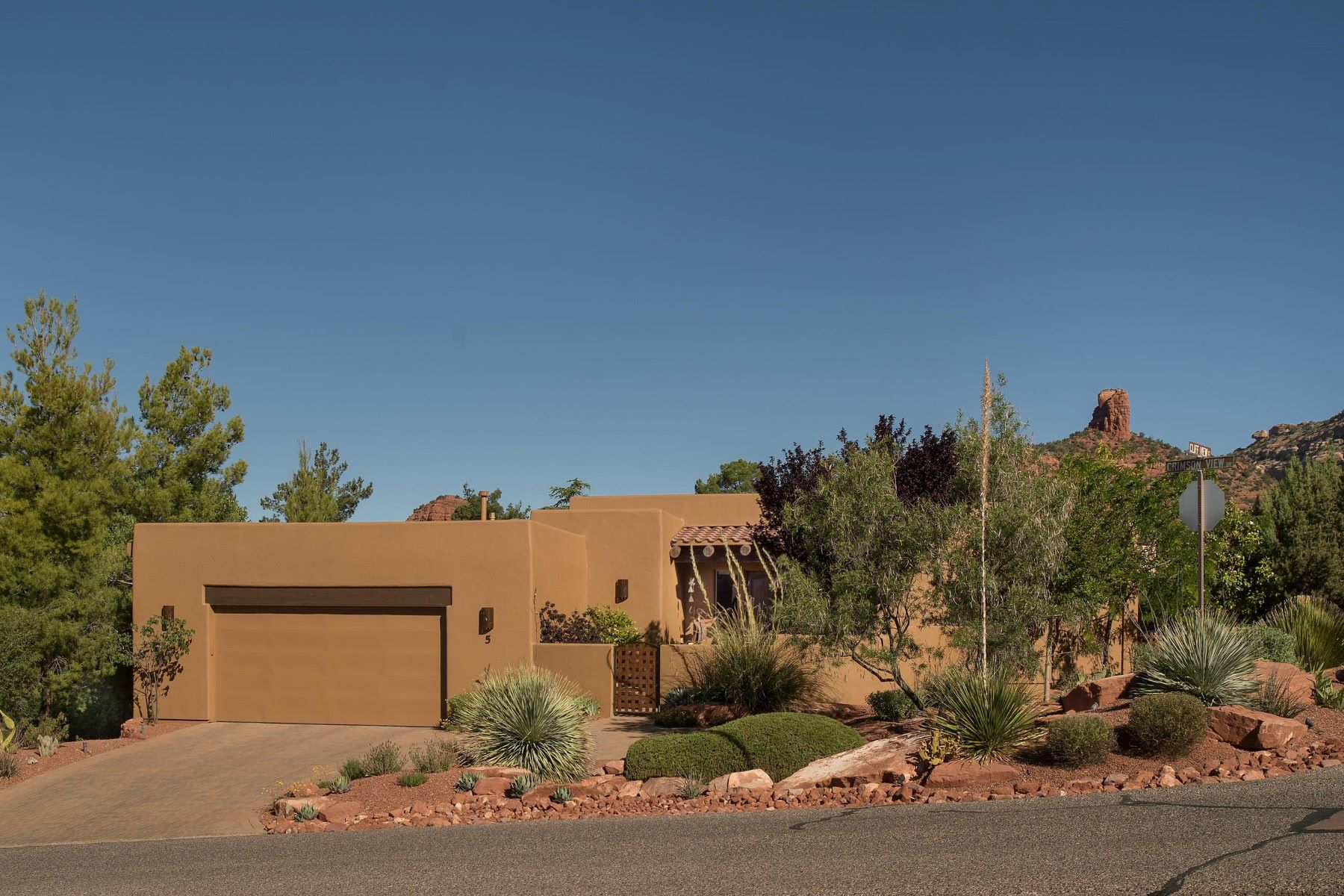 Land for Sale at Wonderful home home in the Heart of West Sedona 5 Cliff View Court Sedona, Arizona, 86336 United States