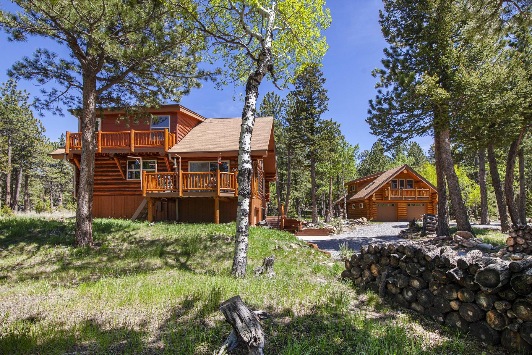 Single Family Homes for Sale at Surround Yourself With Luxury, Views And Nature 365 Overland Dr Ward, Colorado 80481 United States