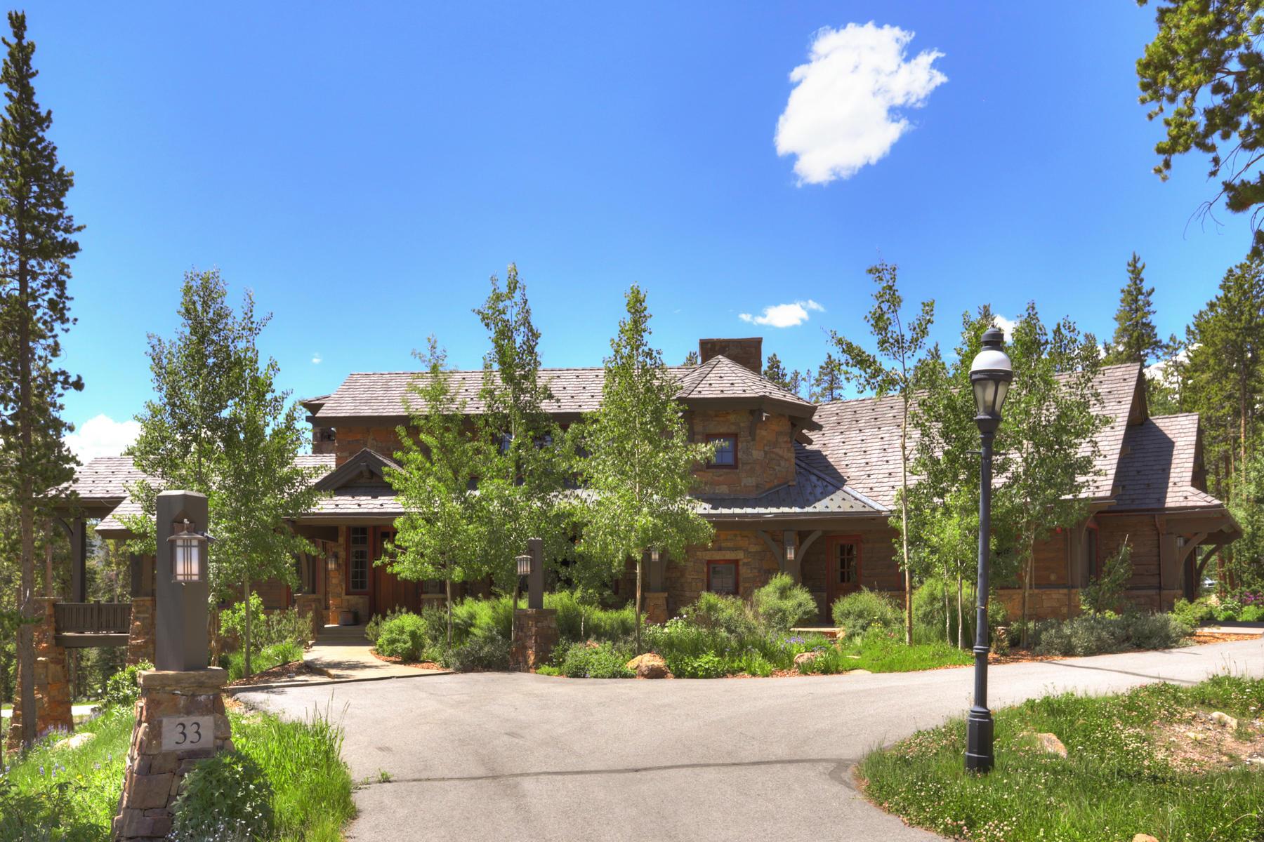 Single Family Homes για την Πώληση στο A One of a Kind Breckenridge Estate 33 Iron Mask Road, Breckenridge, Κολοραντο 80424 Ηνωμένες Πολιτείες