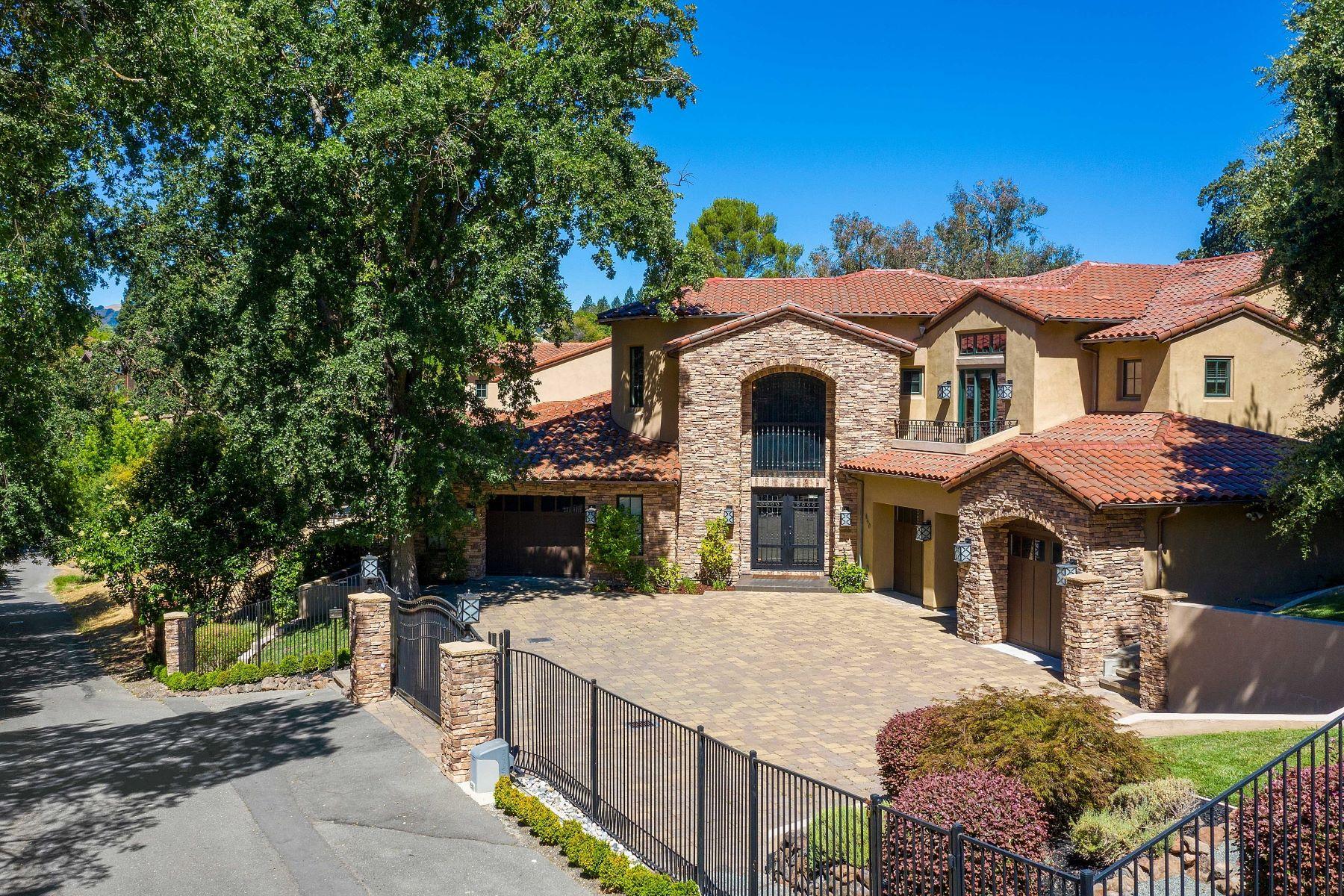Single Family Homes para Venda às Above And Beyond 640 El Pintado Road, Danville, Califórnia 94526 Estados Unidos