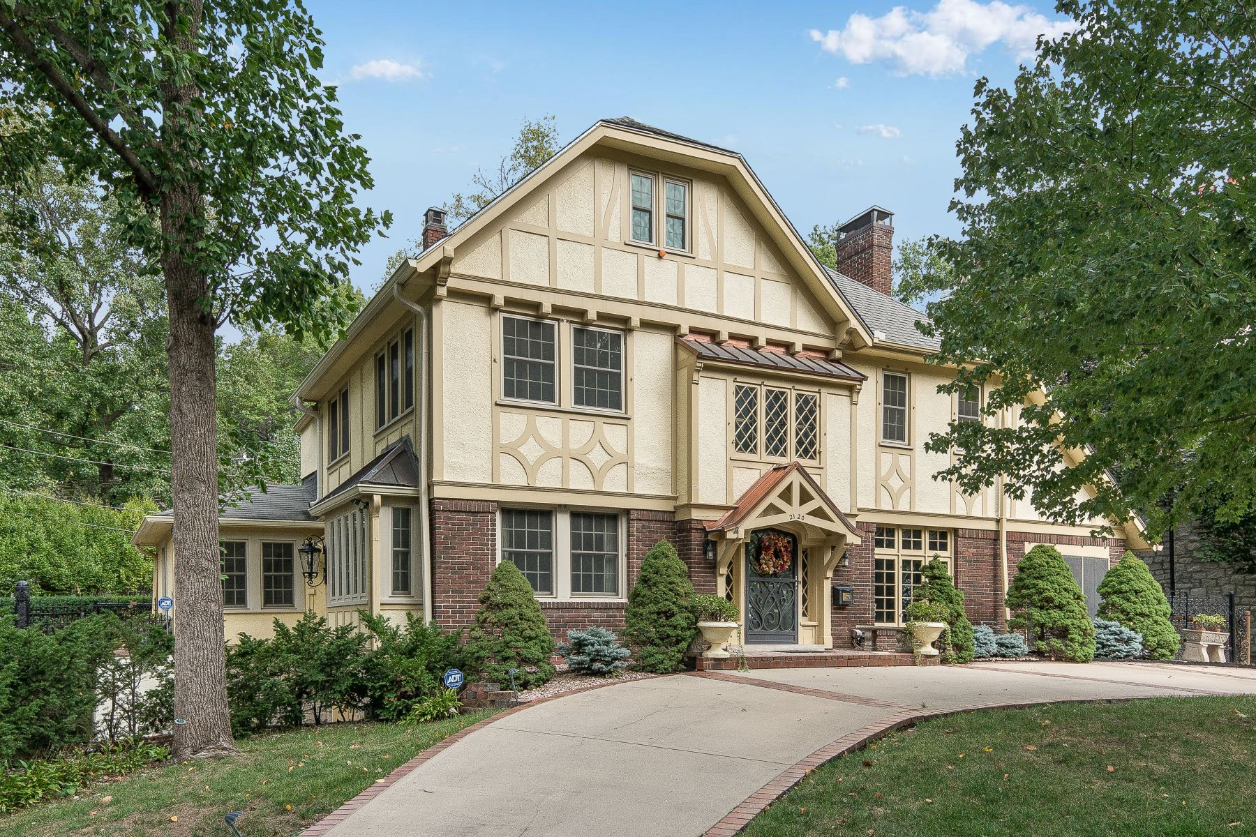 Single Family Homes for Active at Picturesque Clarence Shepherd Tudor 2120 Brookwood Road Mission Hills, Kansas 66208 United States