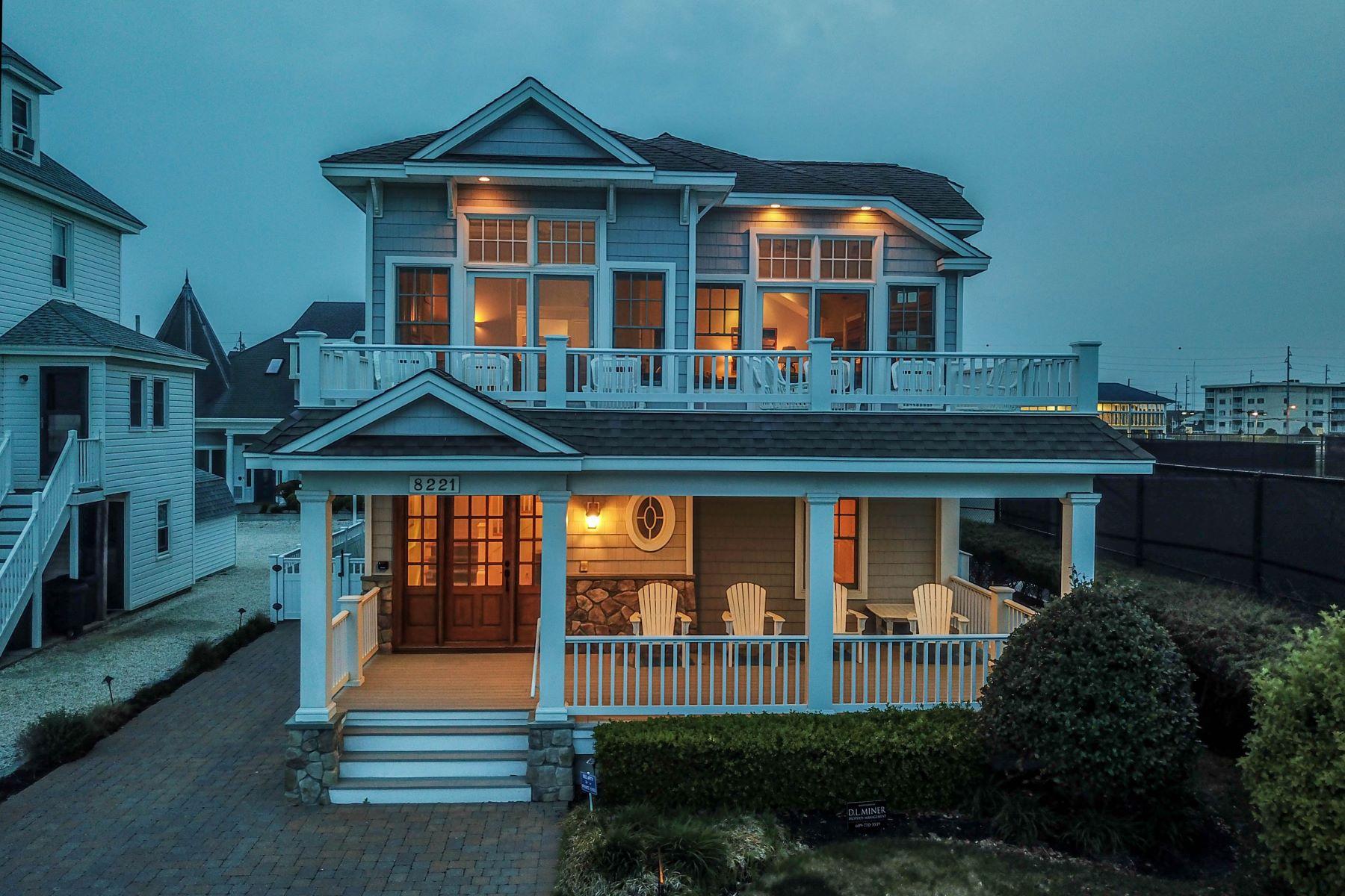 Casa Unifamiliar por un Venta en Almost Ocean Front 8221 First Avenue, Stone Harbor, Nueva Jersey 08247 Estados Unidos