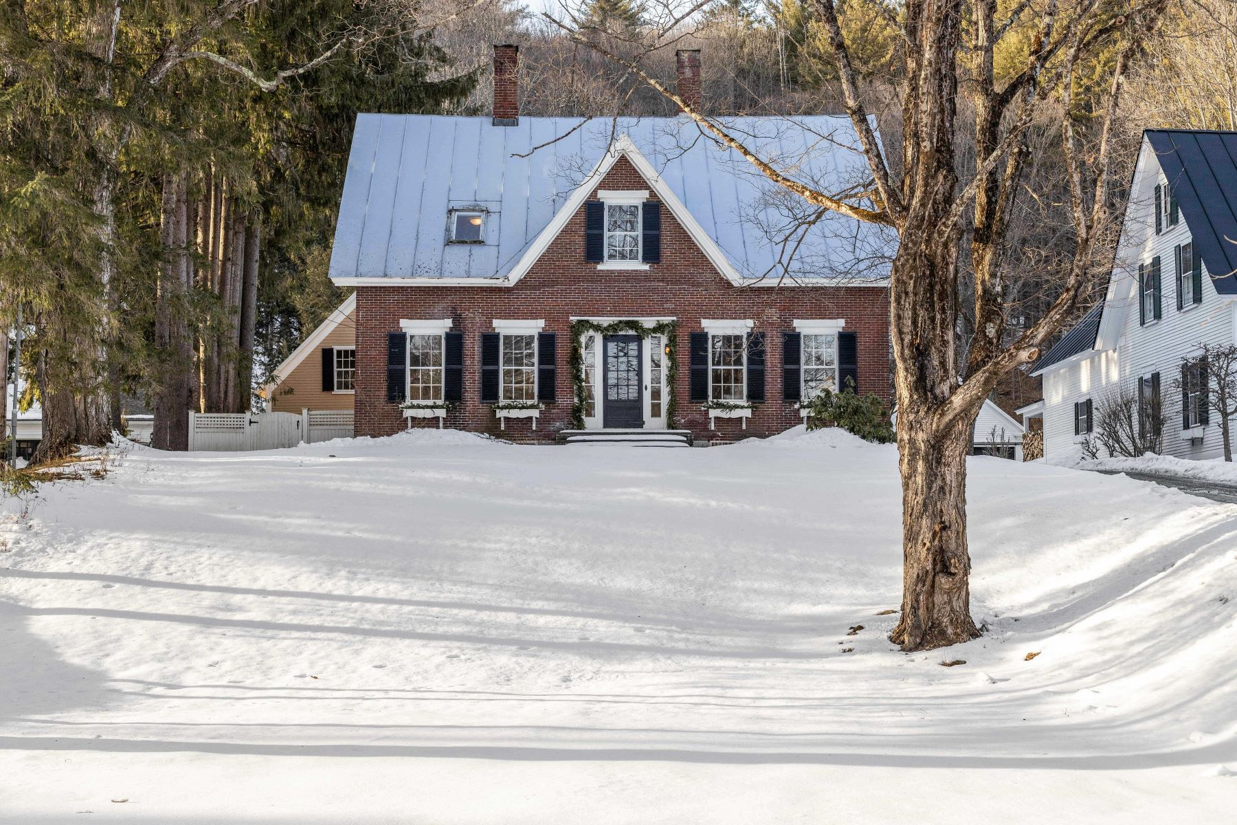 Single Family Homes for Sale at Historic Woodstock Village 21 Mountain Avenue Woodstock, Vermont 05091 United States
