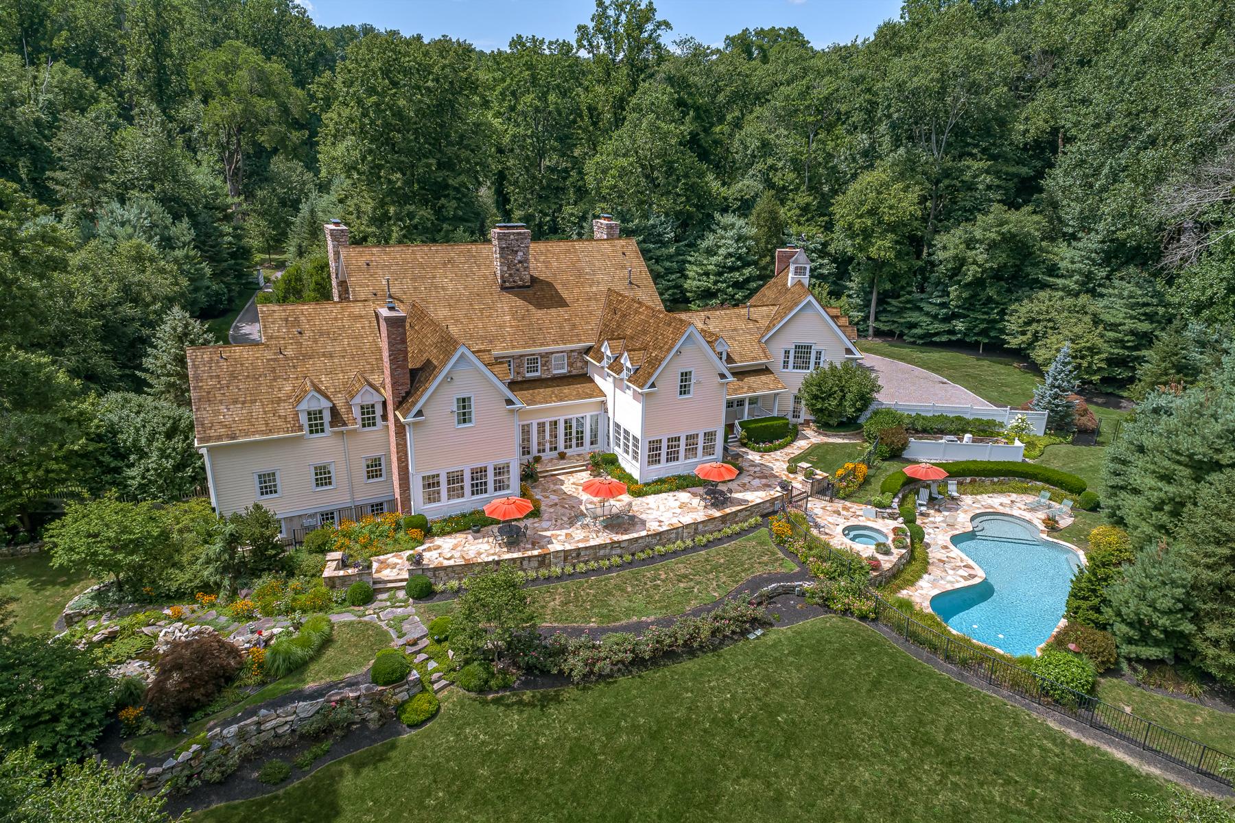 Single Family Homes für Verkauf beim Exquisite New Vernon Estate 42 Kennedy Lane, Harding Township, New Jersey 07976 Vereinigte Staaten