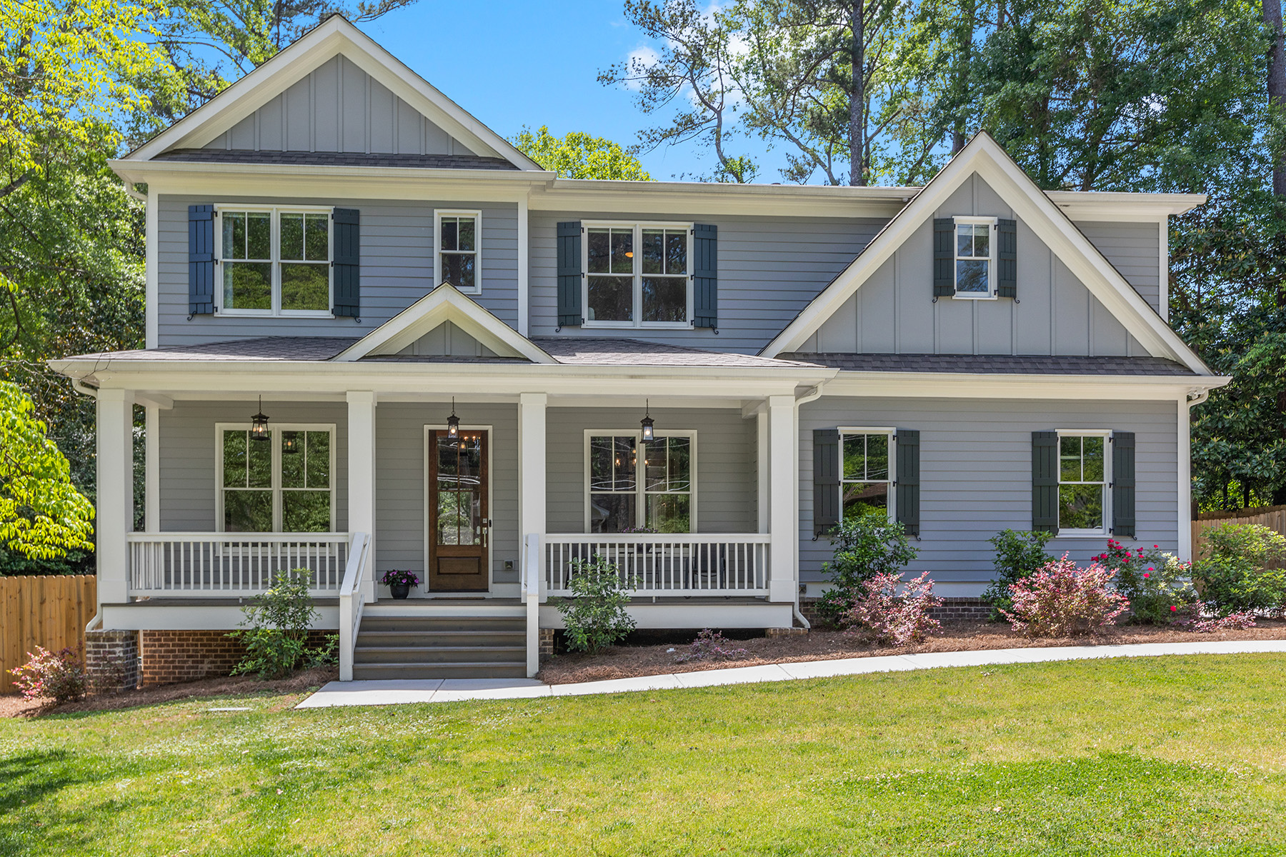 Single Family Homes for Sale at Custom Built Craftsman with Swimming Pool 3025 E Ramble Lane Decatur, Georgia 30033 United States