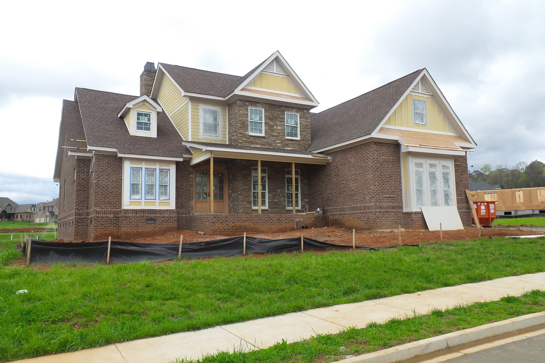 Single Family Home for Sale at New Construction! Home With Comfortable Elegance 12428 Waterslea Lane Knoxville, Tennessee, 37934 United States