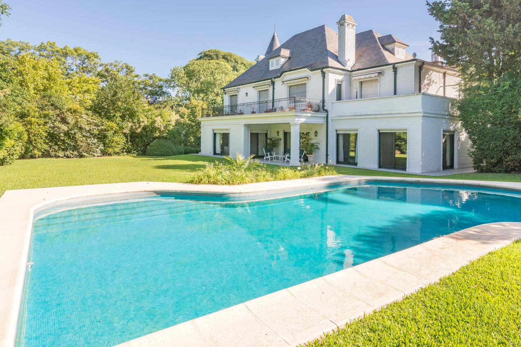 Single Family Home for Sale at Stunning French Style Residence ideal for diplomatic use Melo 1000 Vicente Lopez, Buenos Aires B1638 Argentina