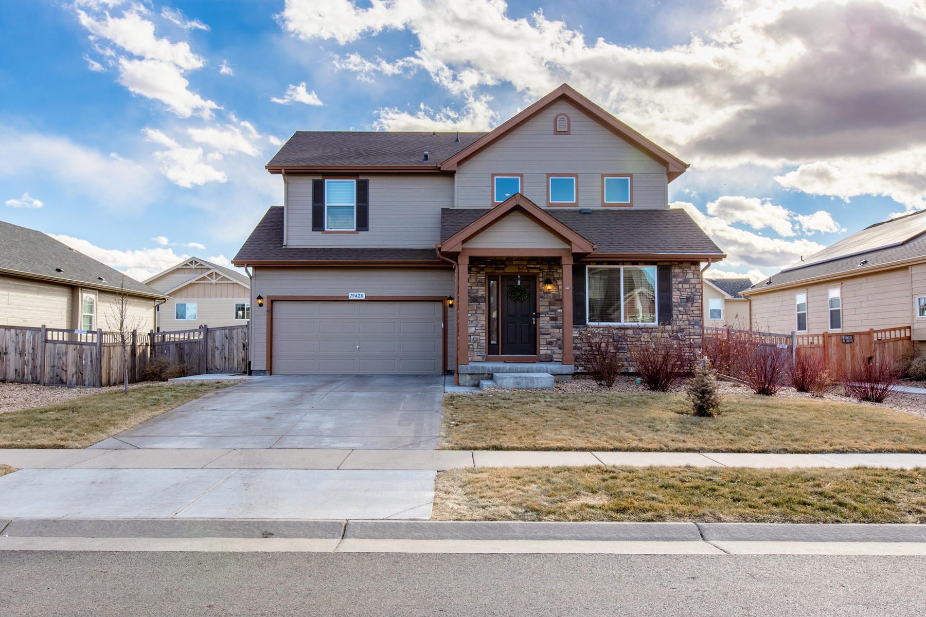 Single Family Home for Active at Adorable Home Offers Light-filled Interior Spaces and Versatile Open Floor Plan 19420 E 61st Dr Aurora, Colorado 80019 United States